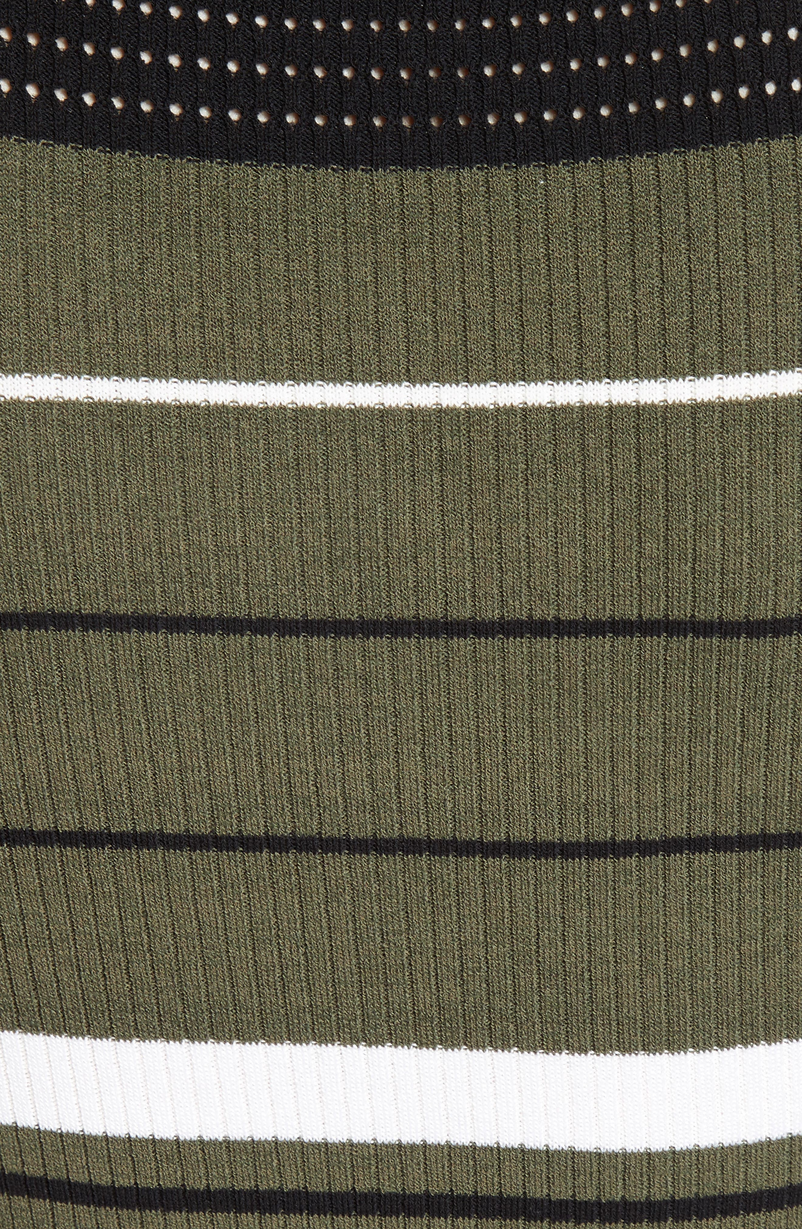 Alternate Image 5  - Opening Ceremony Stripe Rib Knit Dress