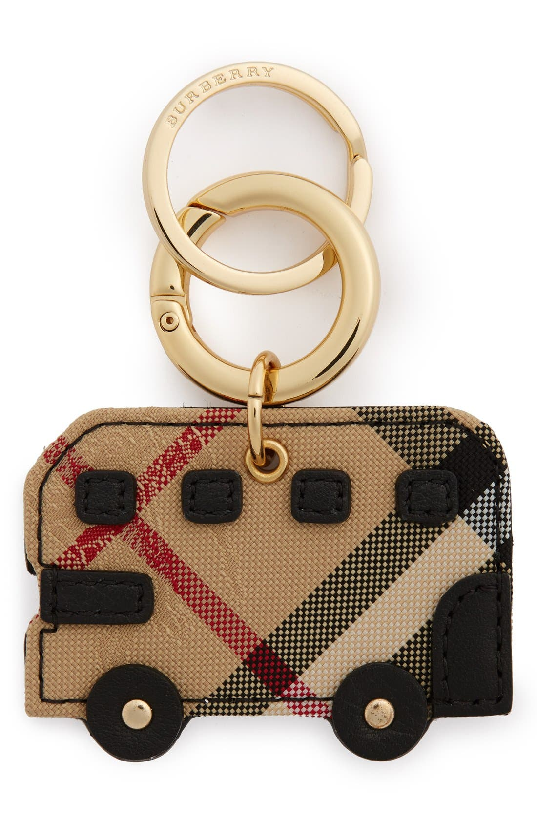 BURBERRY 'Horseferry Check' London Bus Bag Charm