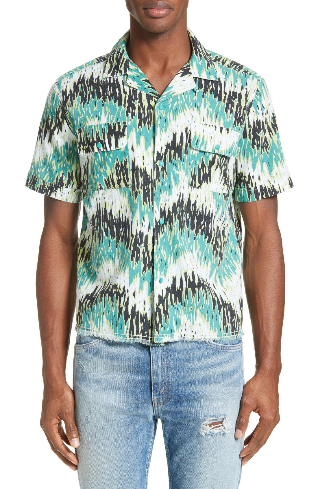 LEVI'S® VINTAGE CLOTHING Print Camp Shirt