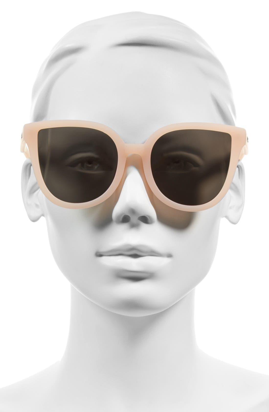 Alternate Image 3  - Quay Australia Paradiso 52mm Cat Eye Sunglasses