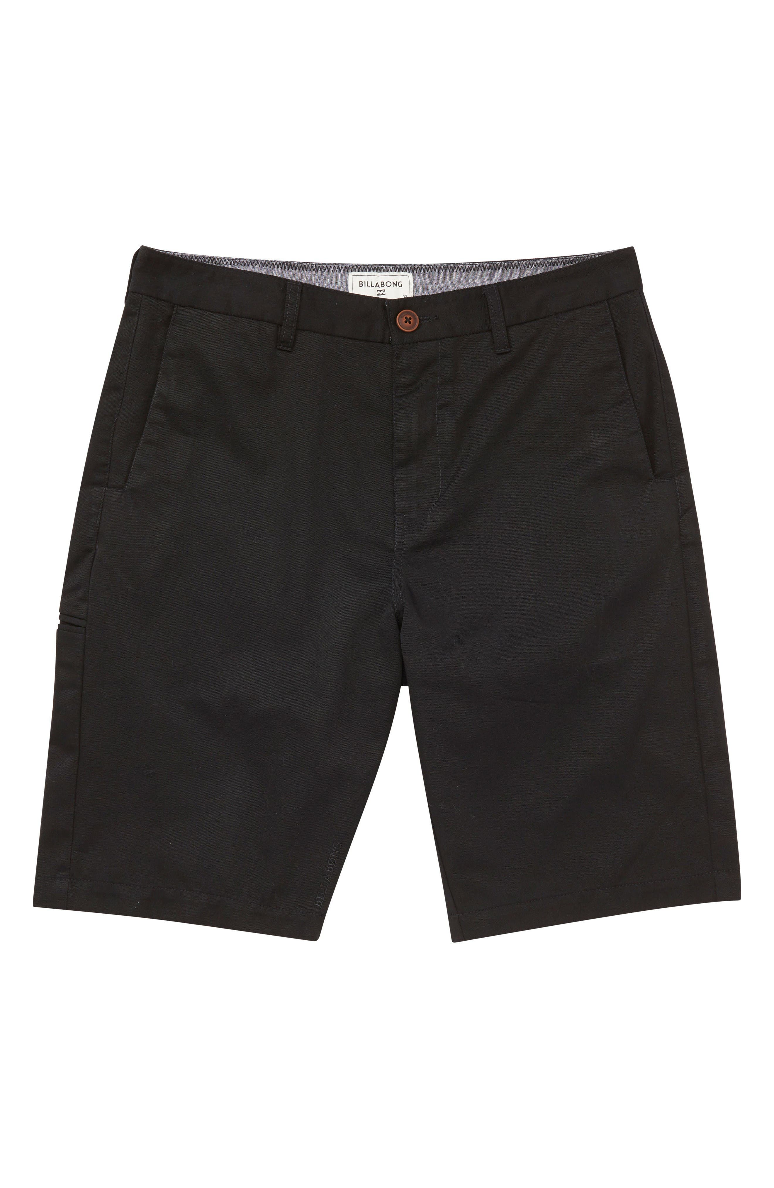 Billabong Carter Walking Shorts (Big Boys)