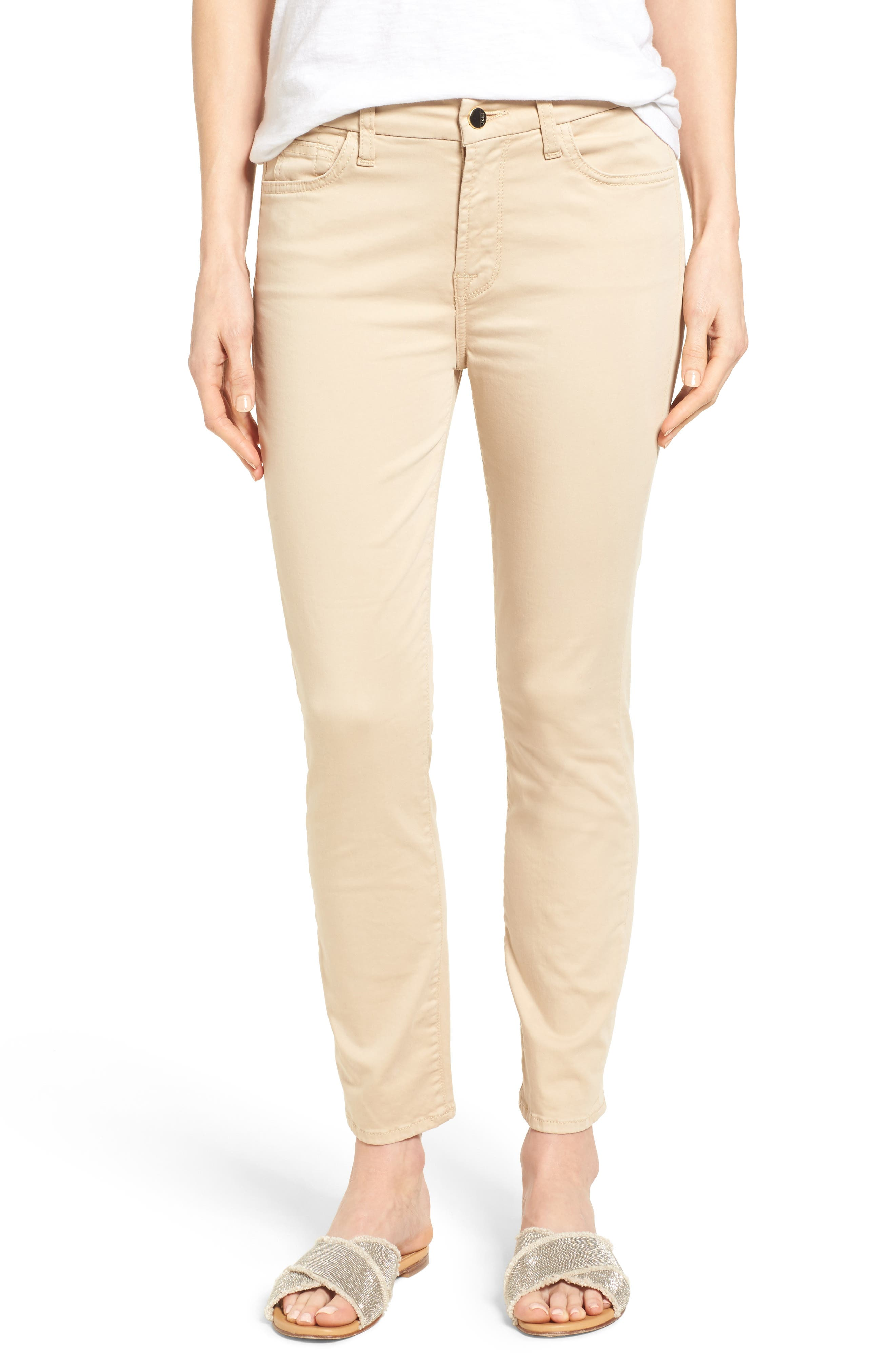 Jen7 Colored Stretch Ankle Skinny Jeans