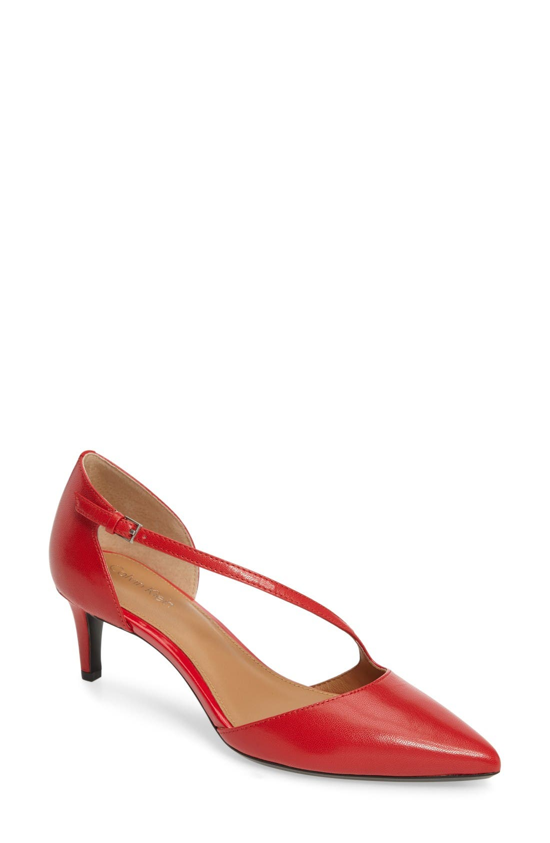Calvin Klein Page Pointy Toe Pump (Women)