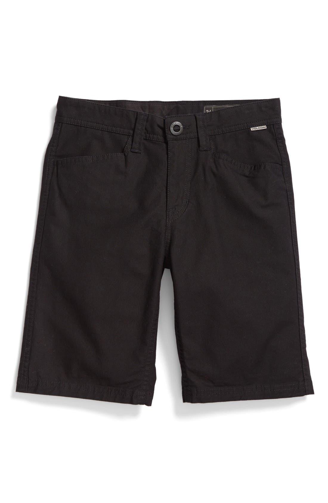 Volcom VSM Gritter Chino Shorts (Big Boys)