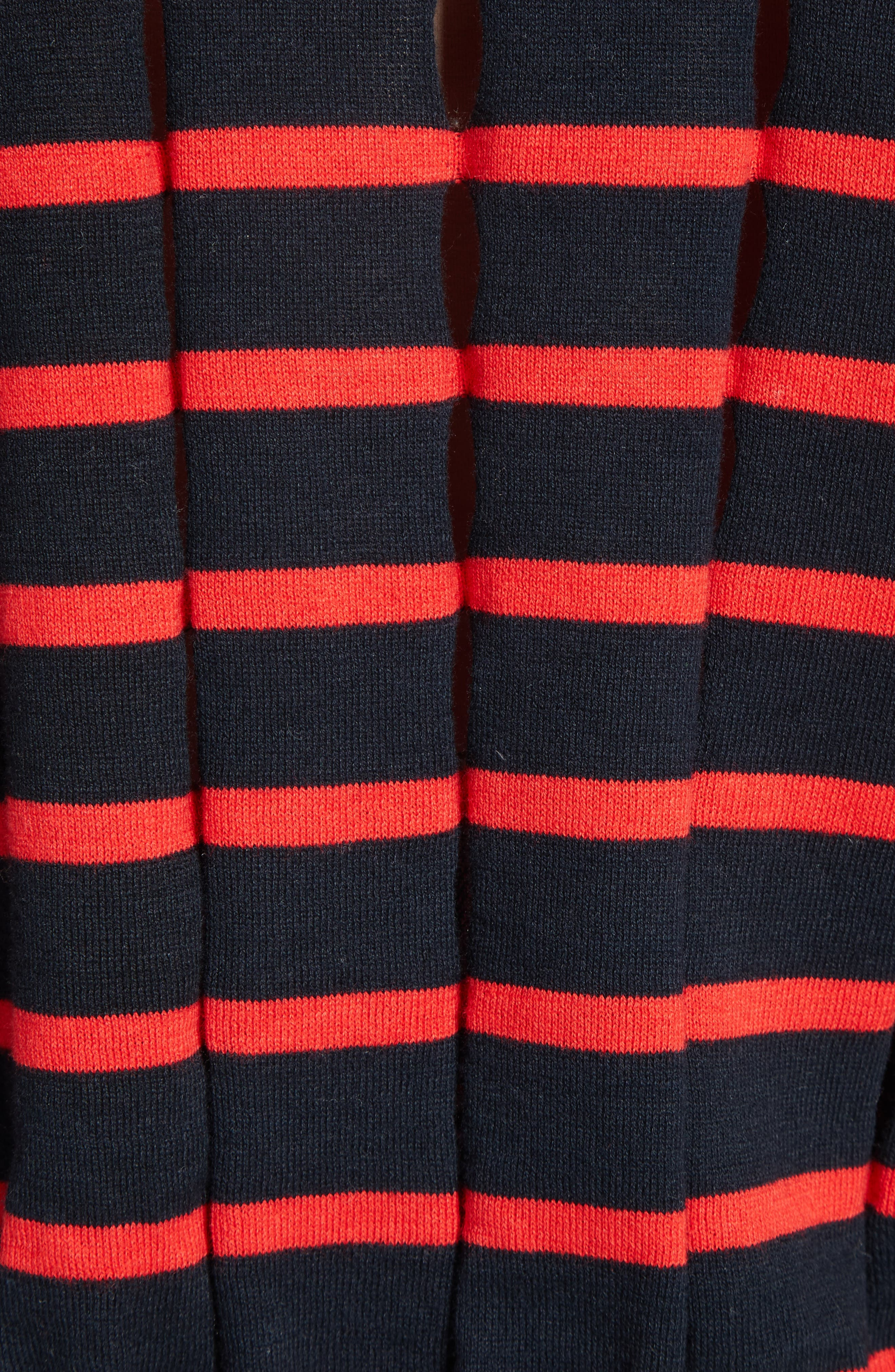 Alternate Image 5  - T by Alexander Wang Stripe Knit Pullover