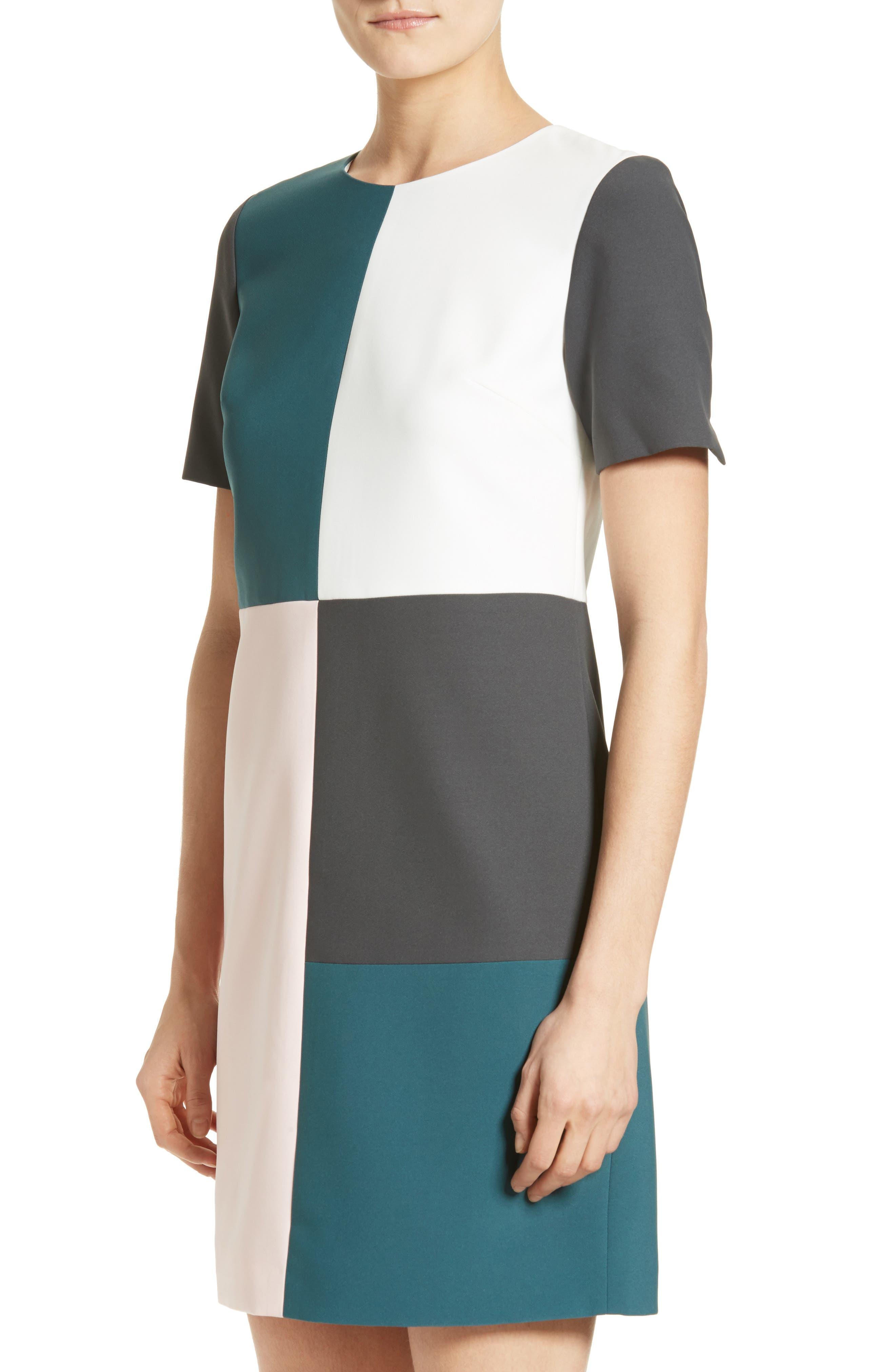 Alternate Image 4  - Ted Baker London Ardell Colorblock Dress