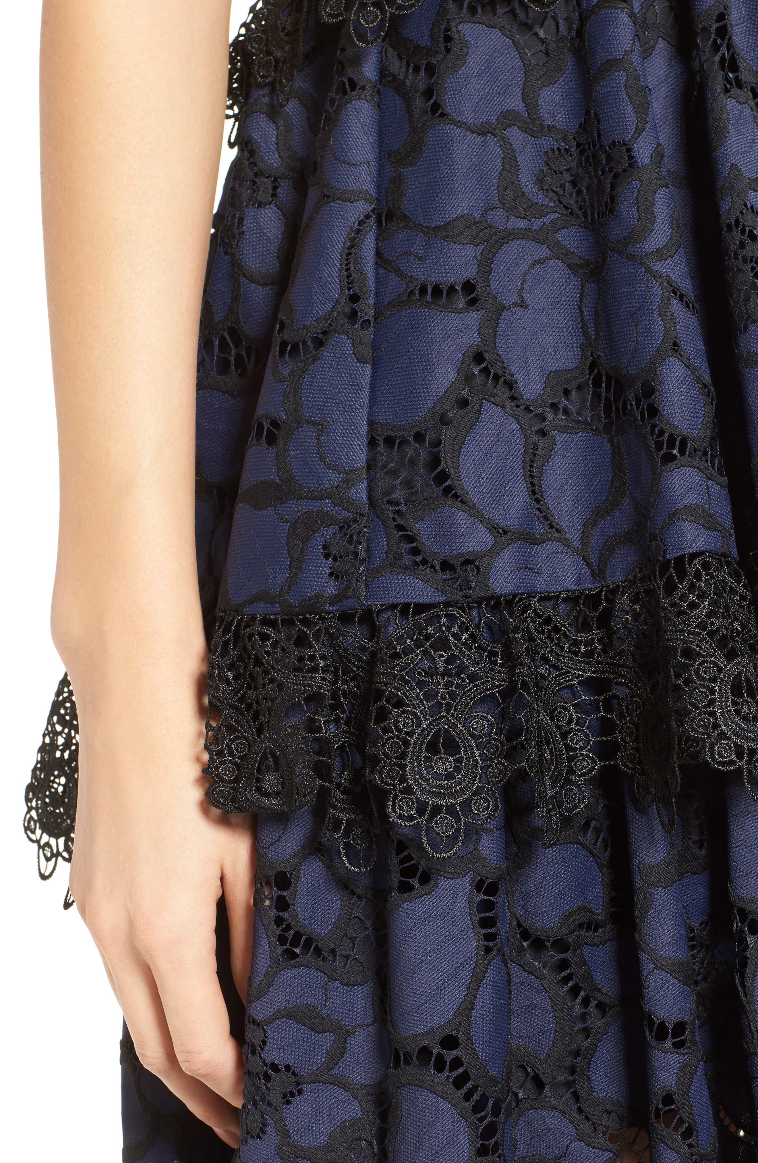 Alternate Image 4  - KENDALL + KYLIE Lace Babydoll Dress