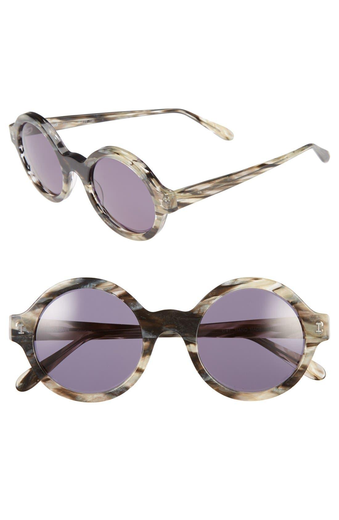 Alternate Image 1 Selected - Illesteva 'Frieda' 48mm Retro Sunglasses