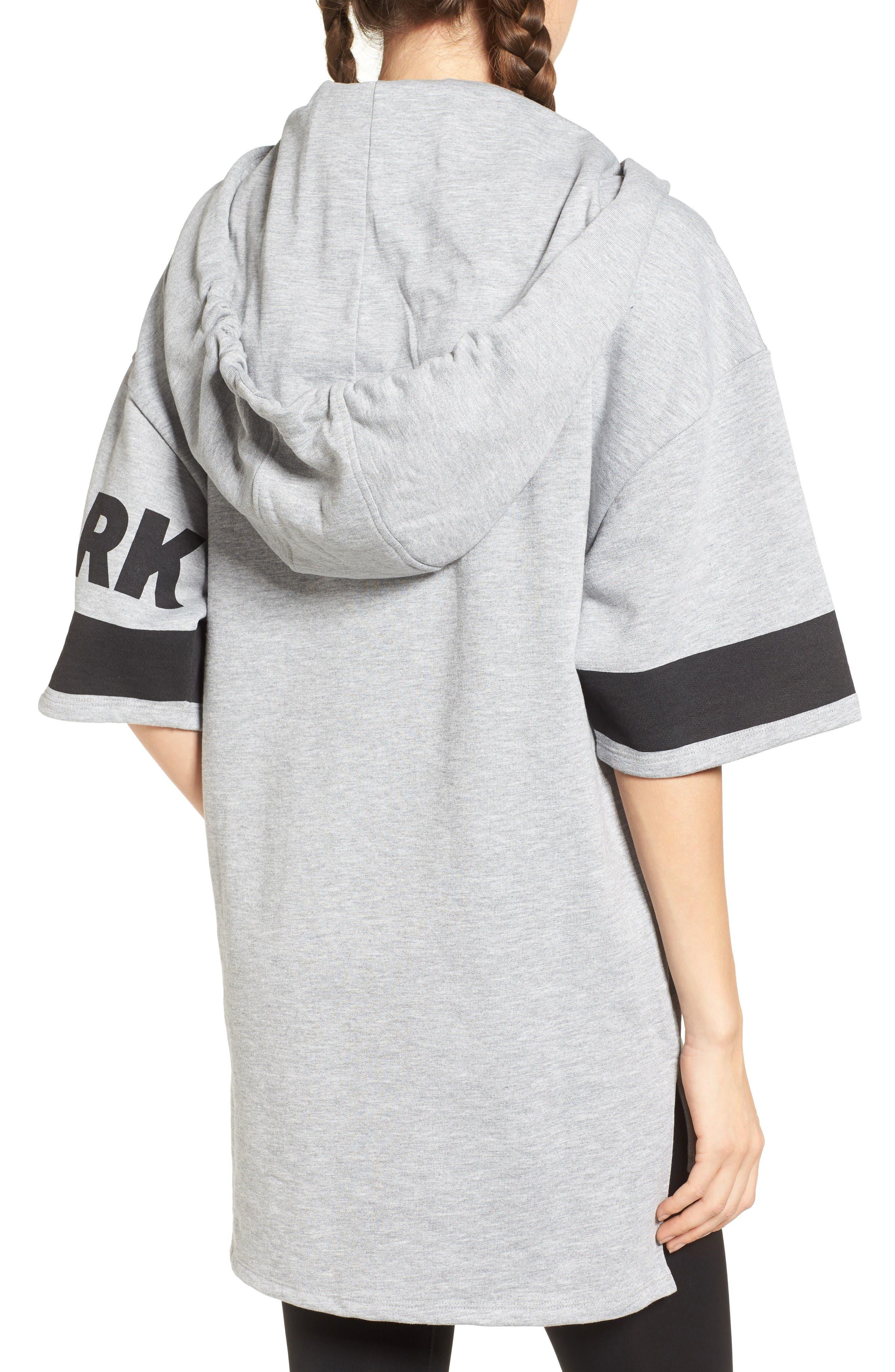 Alternate Image 2  - IVY PARK® Logo Sleeve Hoodie