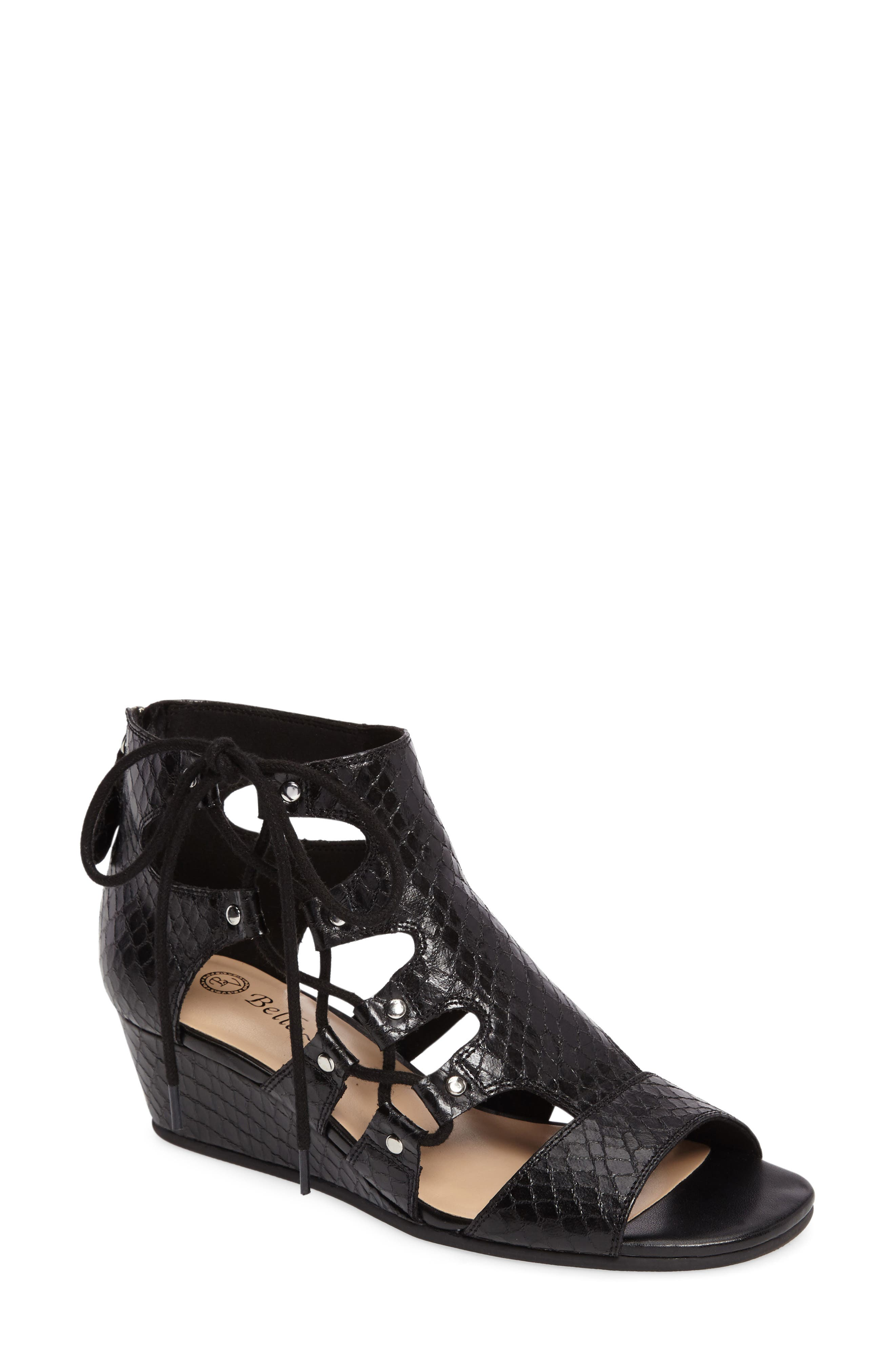 Bella Vita Imani Wedge Sandal (Women)
