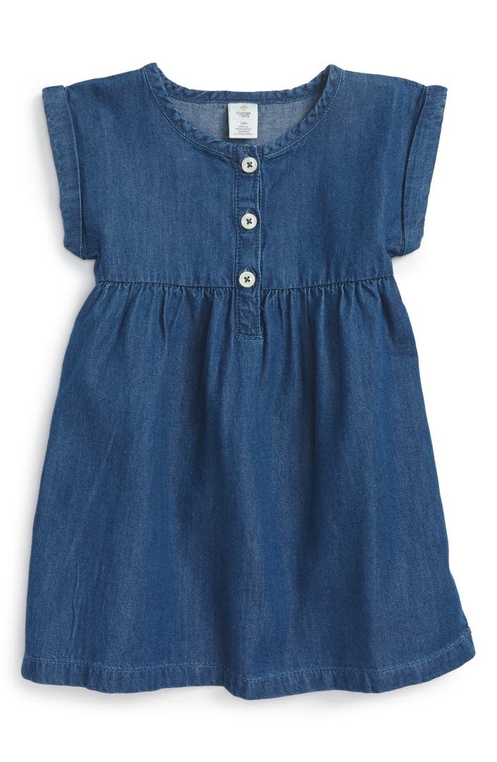 Tucker Tate Chambray Dress Baby Girls Nordstrom