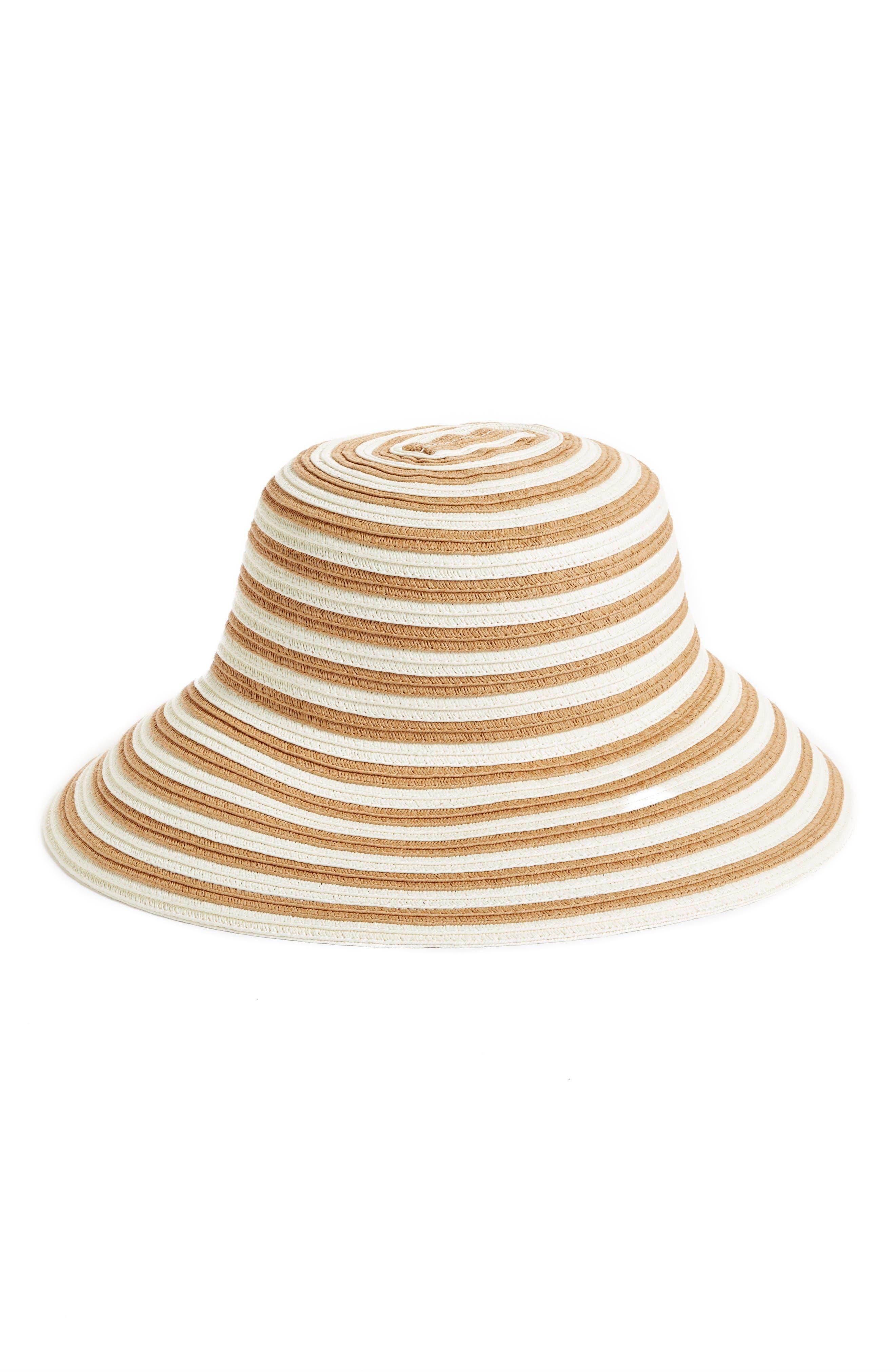 Caslon® Stripe Sun Hat