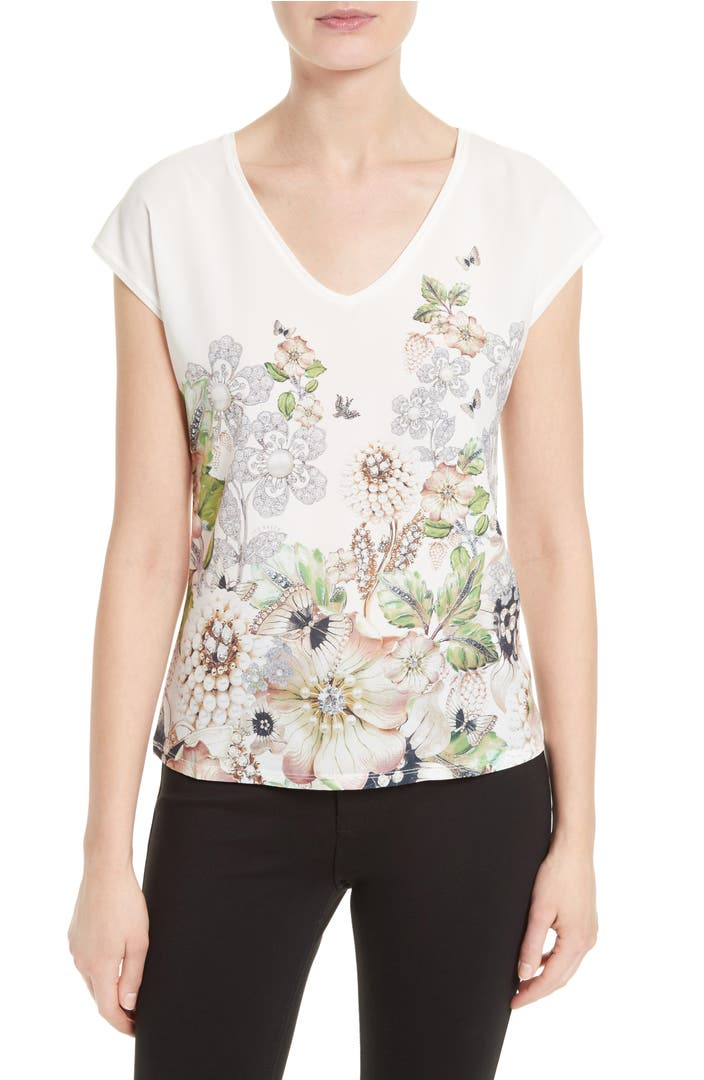 Ted Baker London сумка : Ted baker london teila mixed media tee nordstrom
