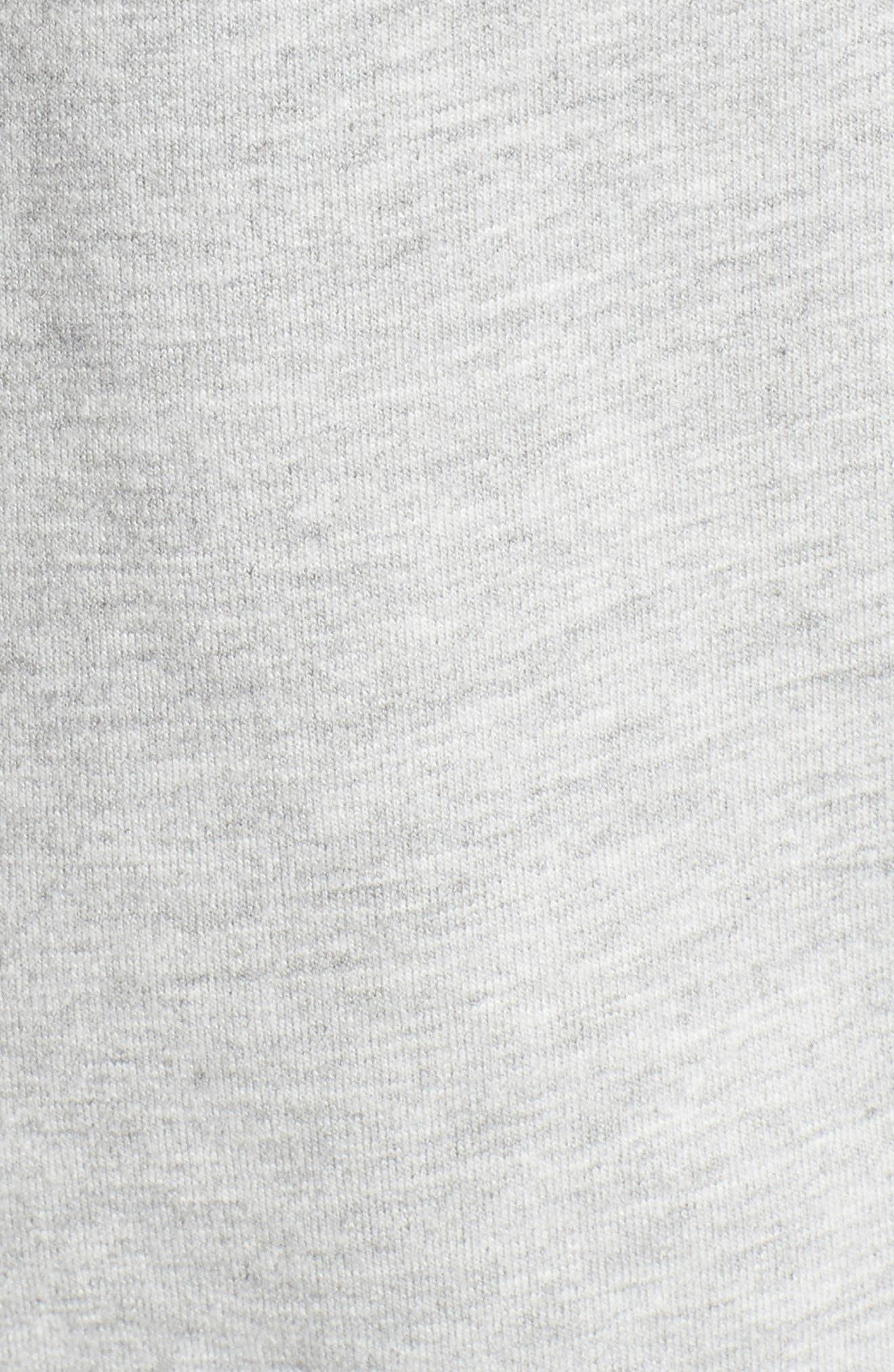 Alternate Image 5  - Love, Fire Ruffle Front Sweatshirt