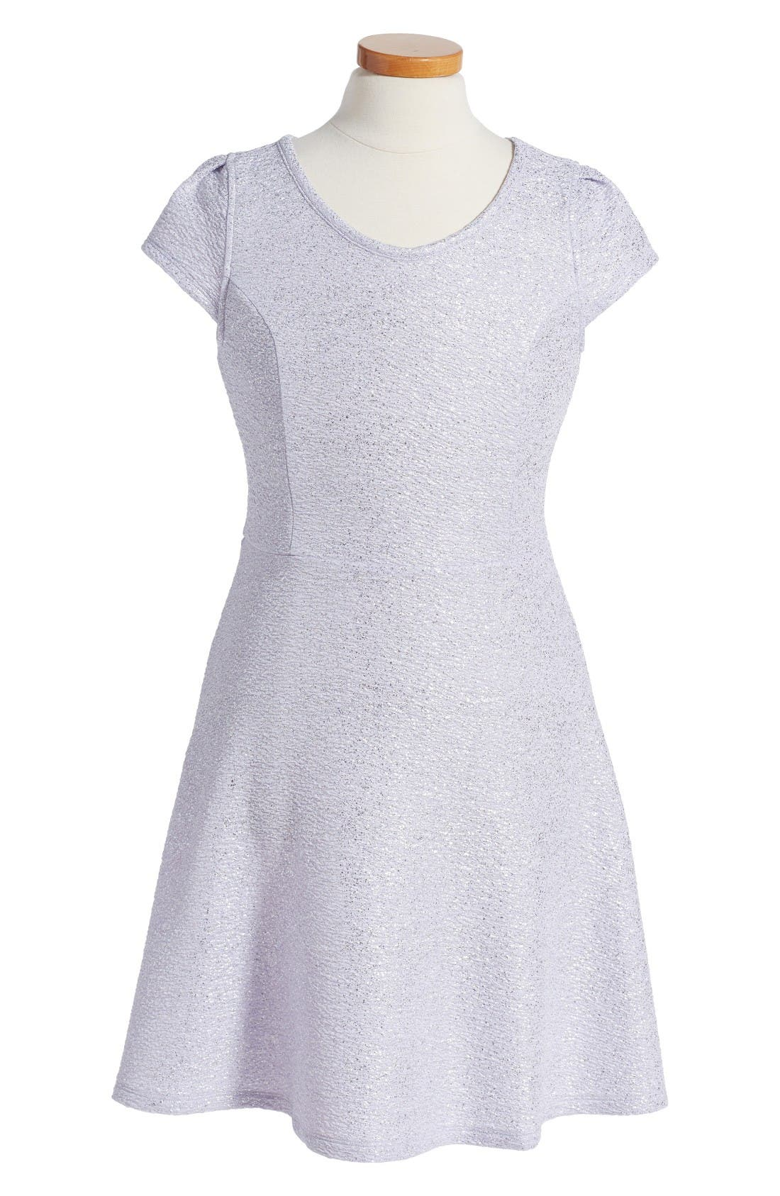 RUBY & BLOOM Glimmer Knit Dress