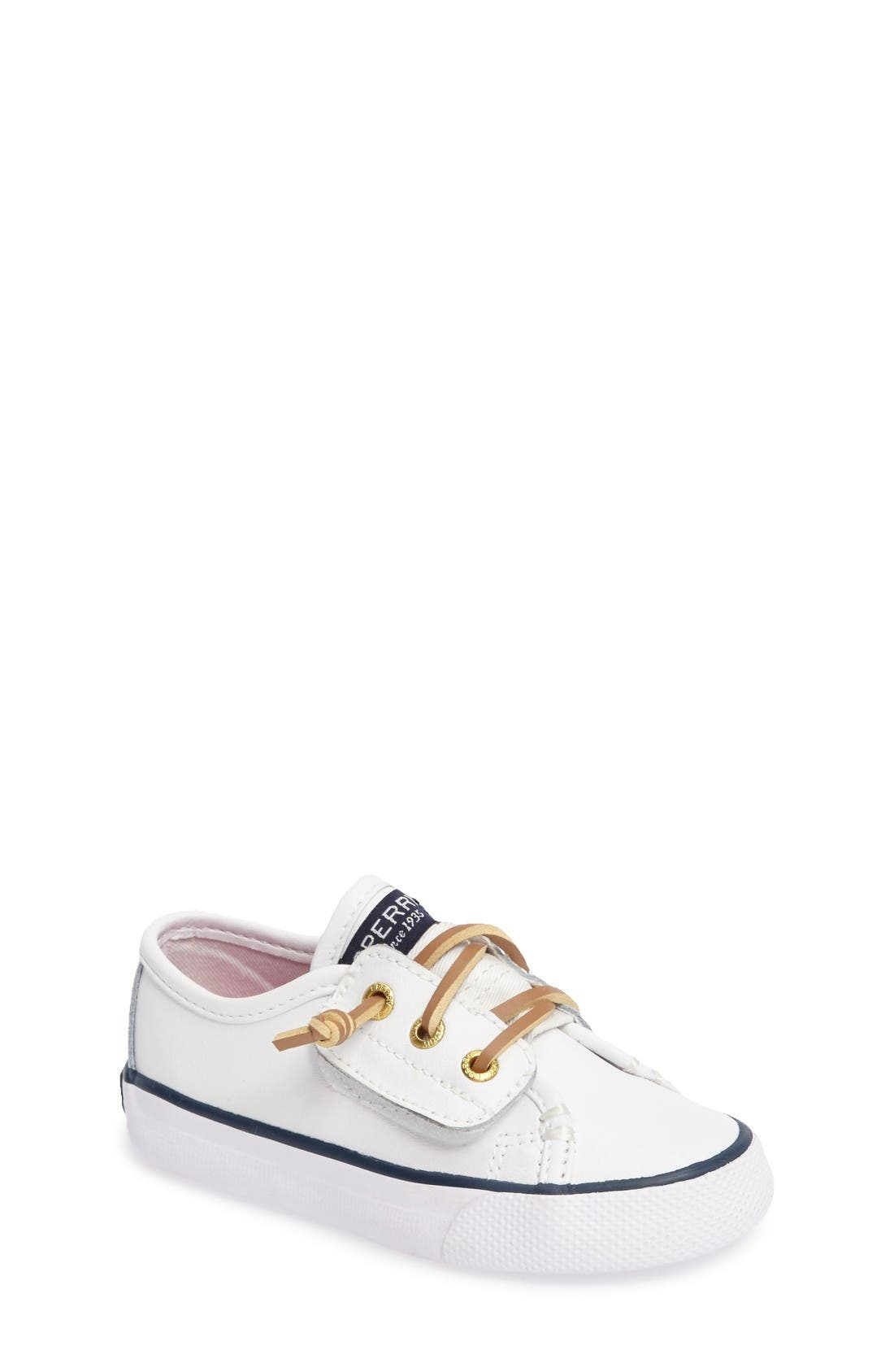 Sperry Kids Seacoast Jr. Sneaker (Walker & Toddler)