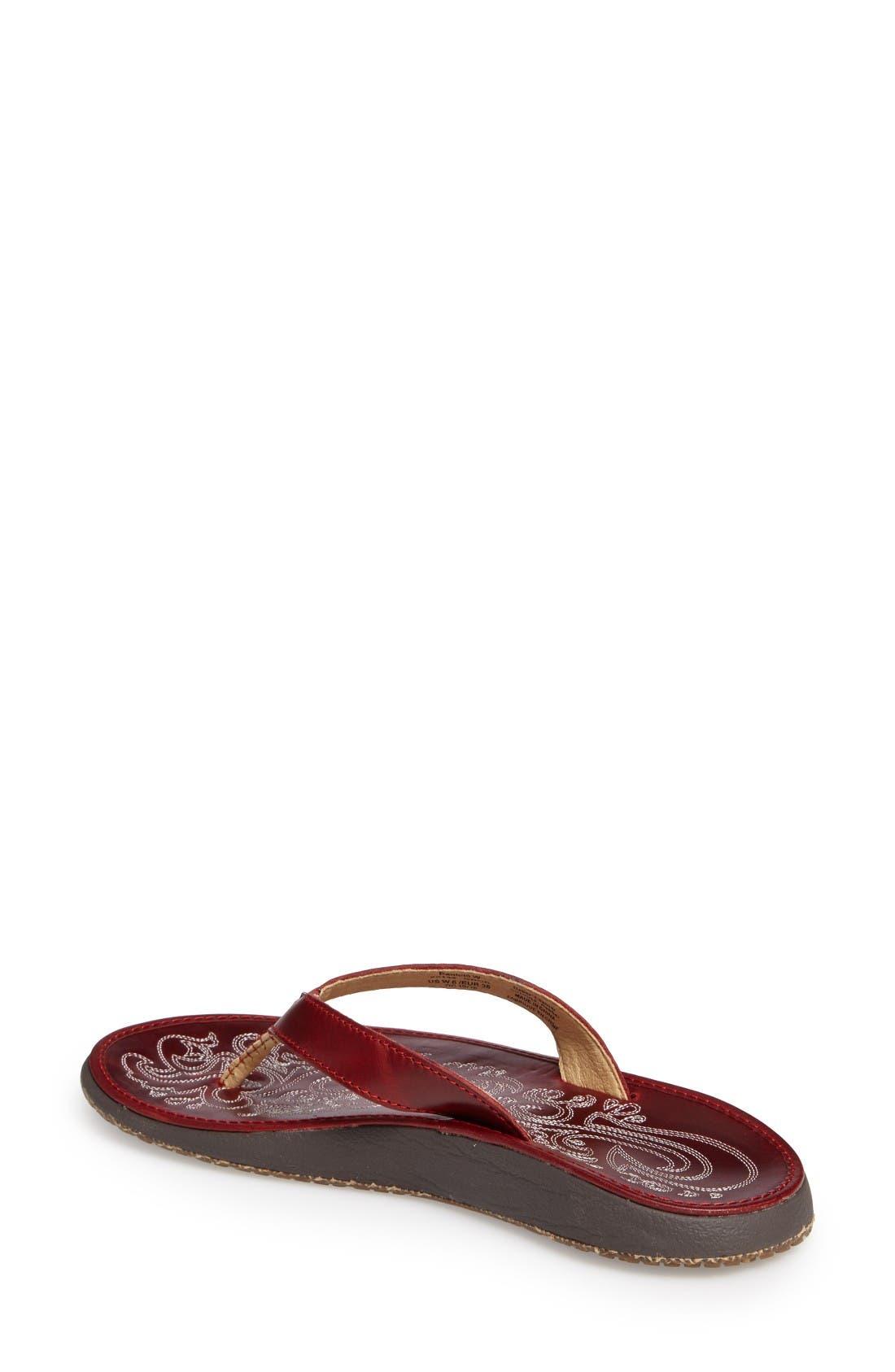 Alternate Image 2  - OluKai 'Paniolo' Thong Sandal