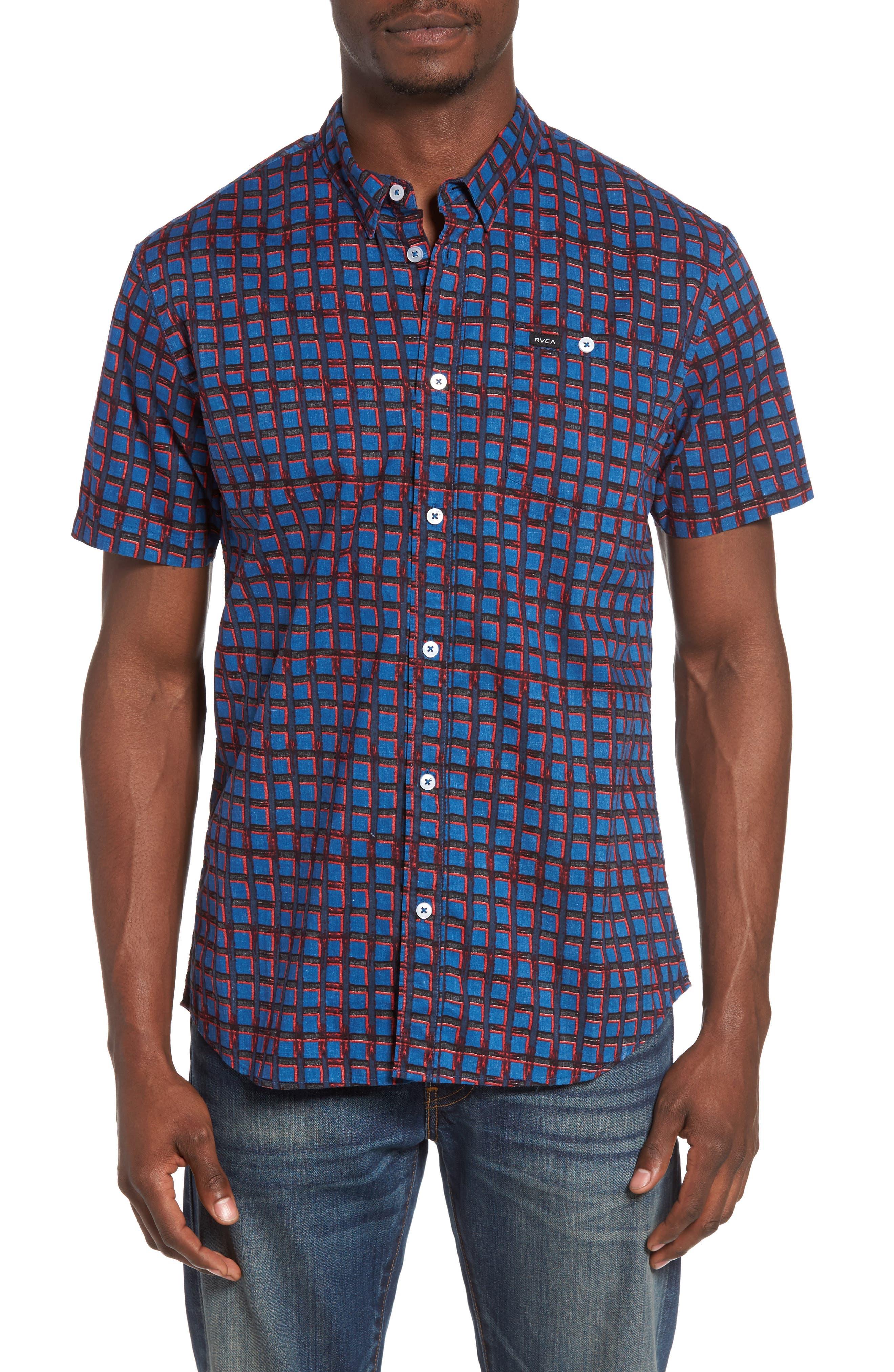 RVCA Shaded Check Shirt