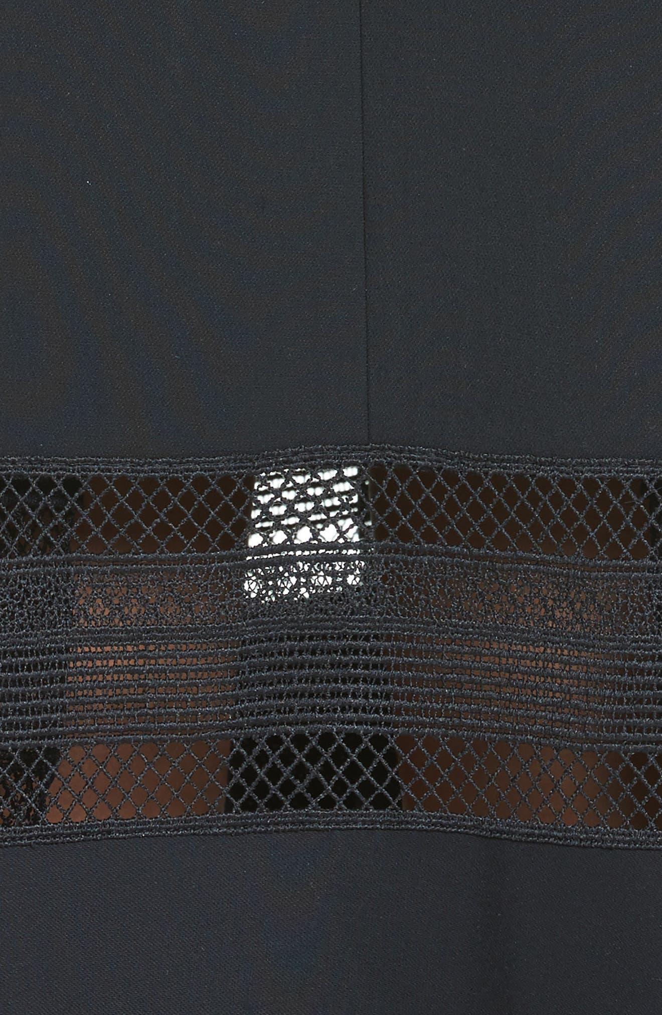 Alternate Image 5  - Self-Portrait Cold Shoulder Midi Dress