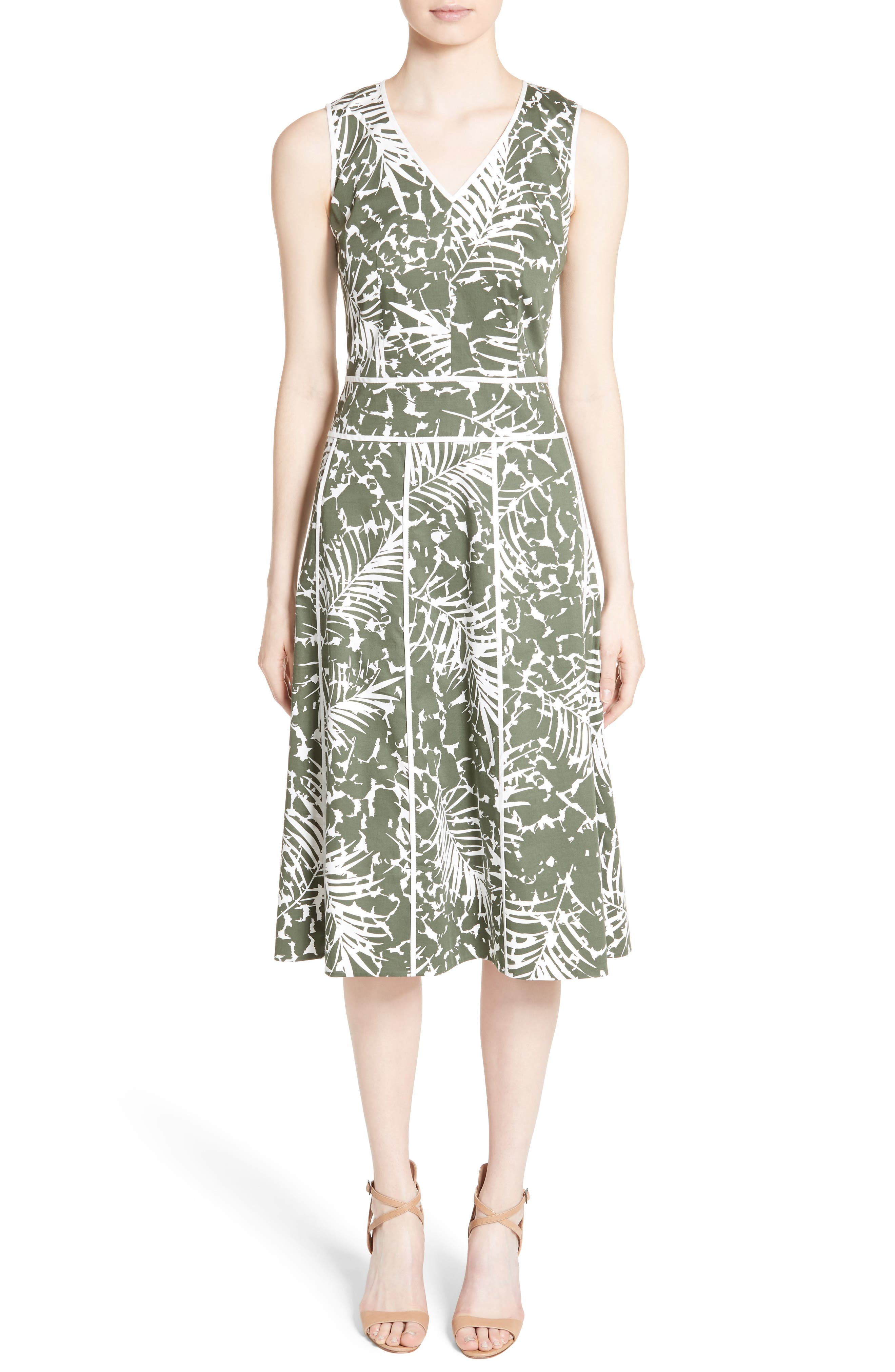LAFAYETTE 148 NEW YORK Emlia Print Dress