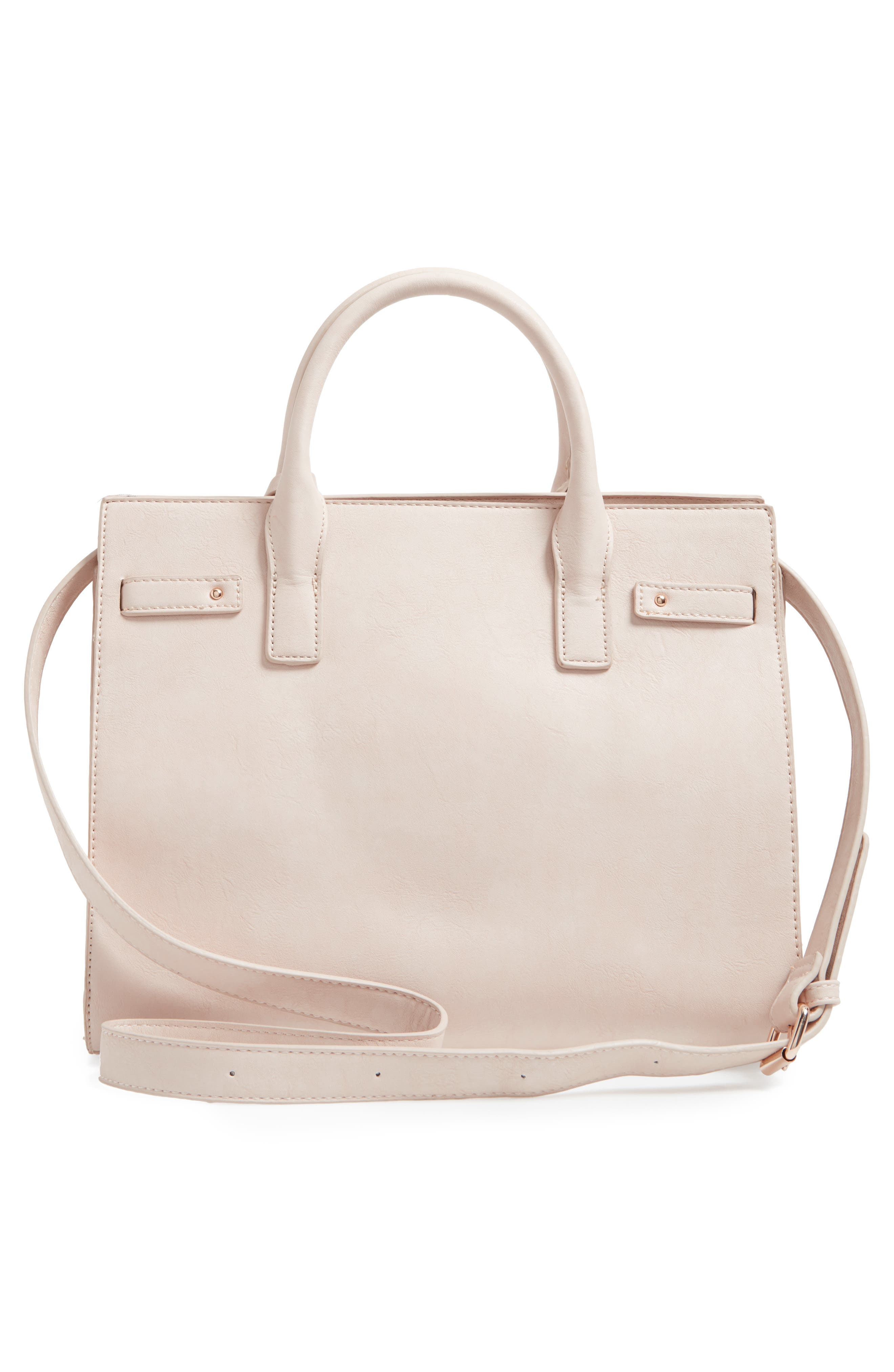Alternate Image 3  - Sole Society Athenia Faux Leather Satchel