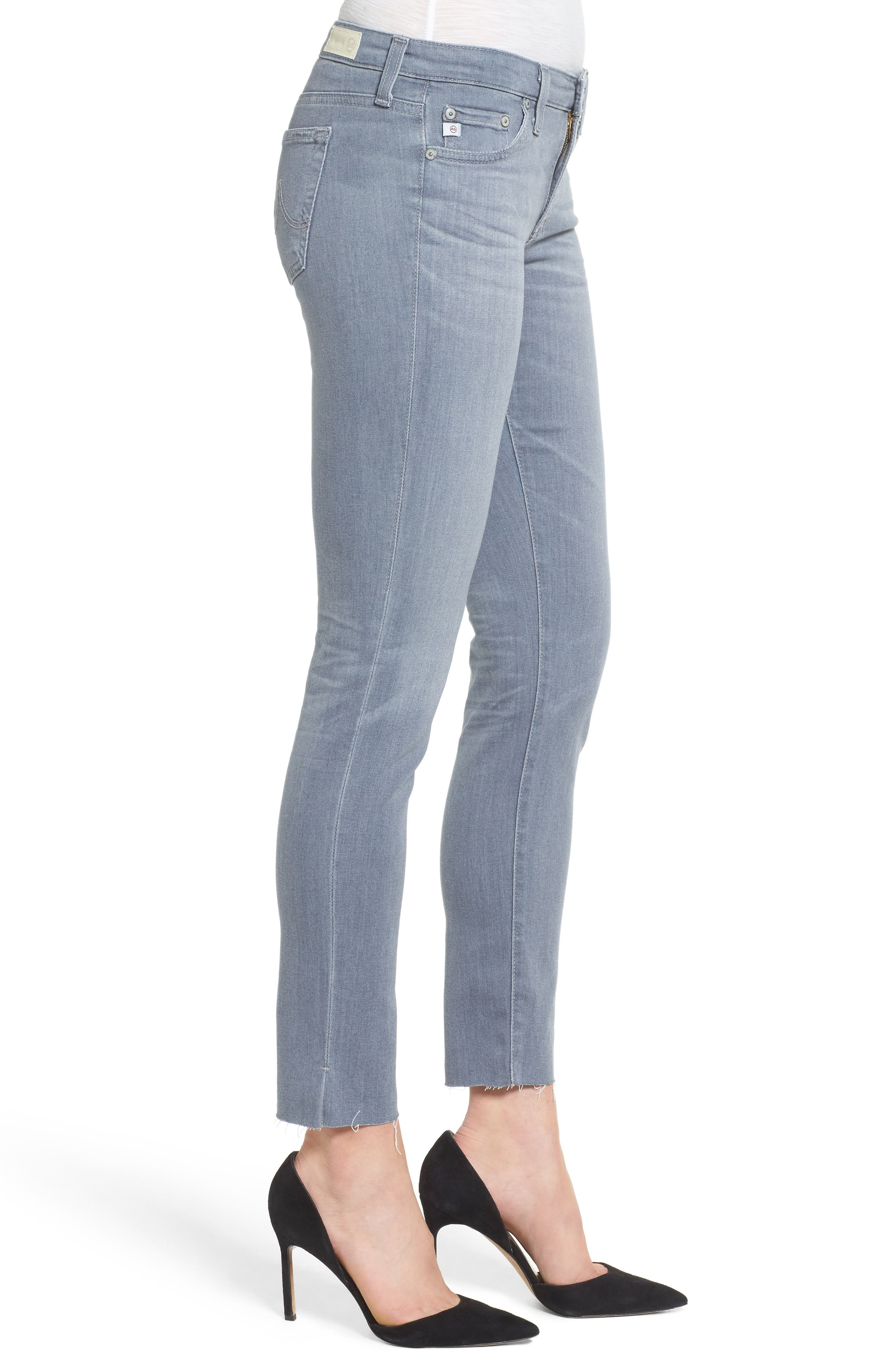 Alternate Image 3  - AG The Legging Ankle Super Skinny Jeans (10 Year Wind Chill)