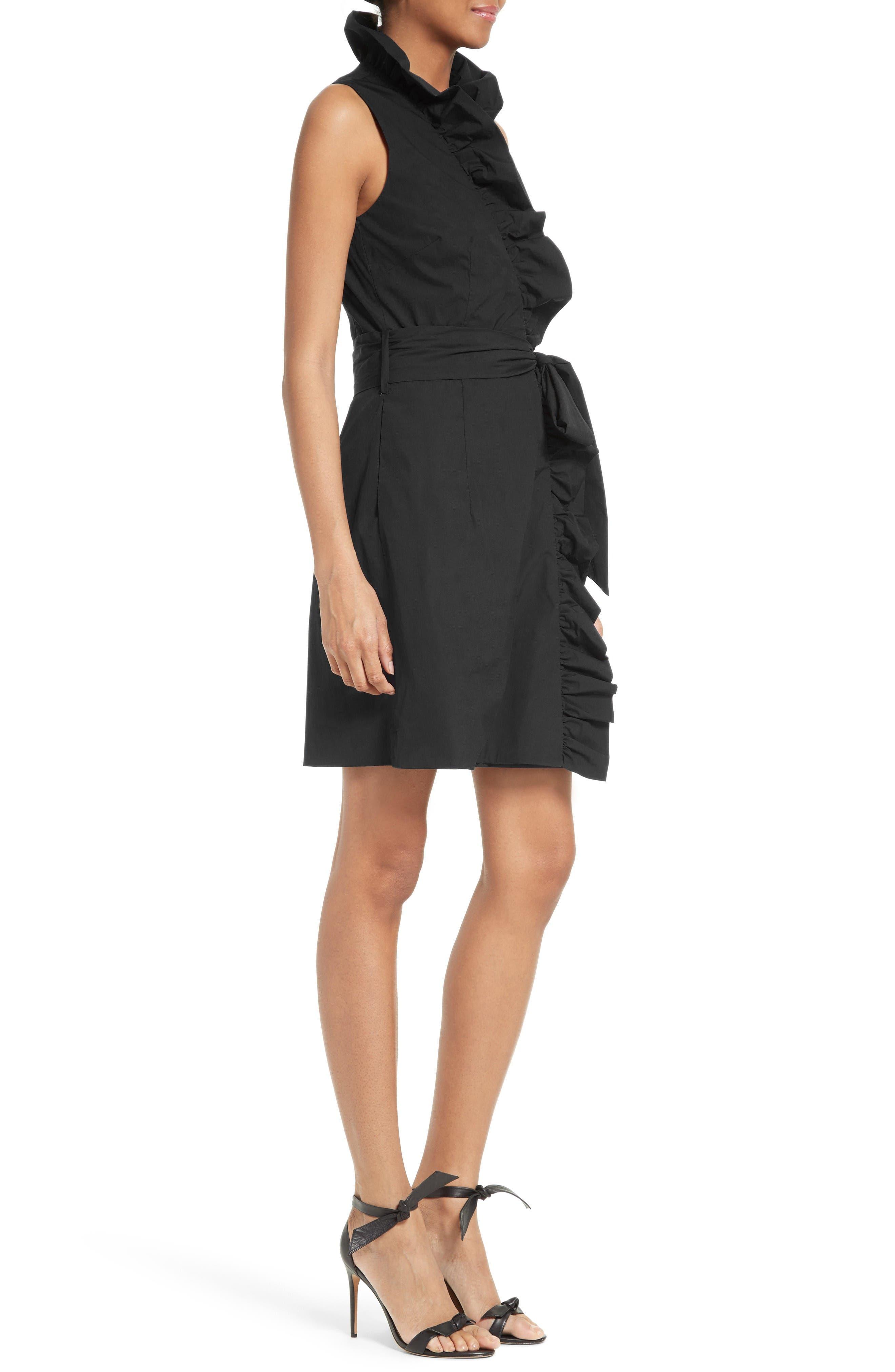 Alternate Image 3  - Milly Ruffle Wrap Dress