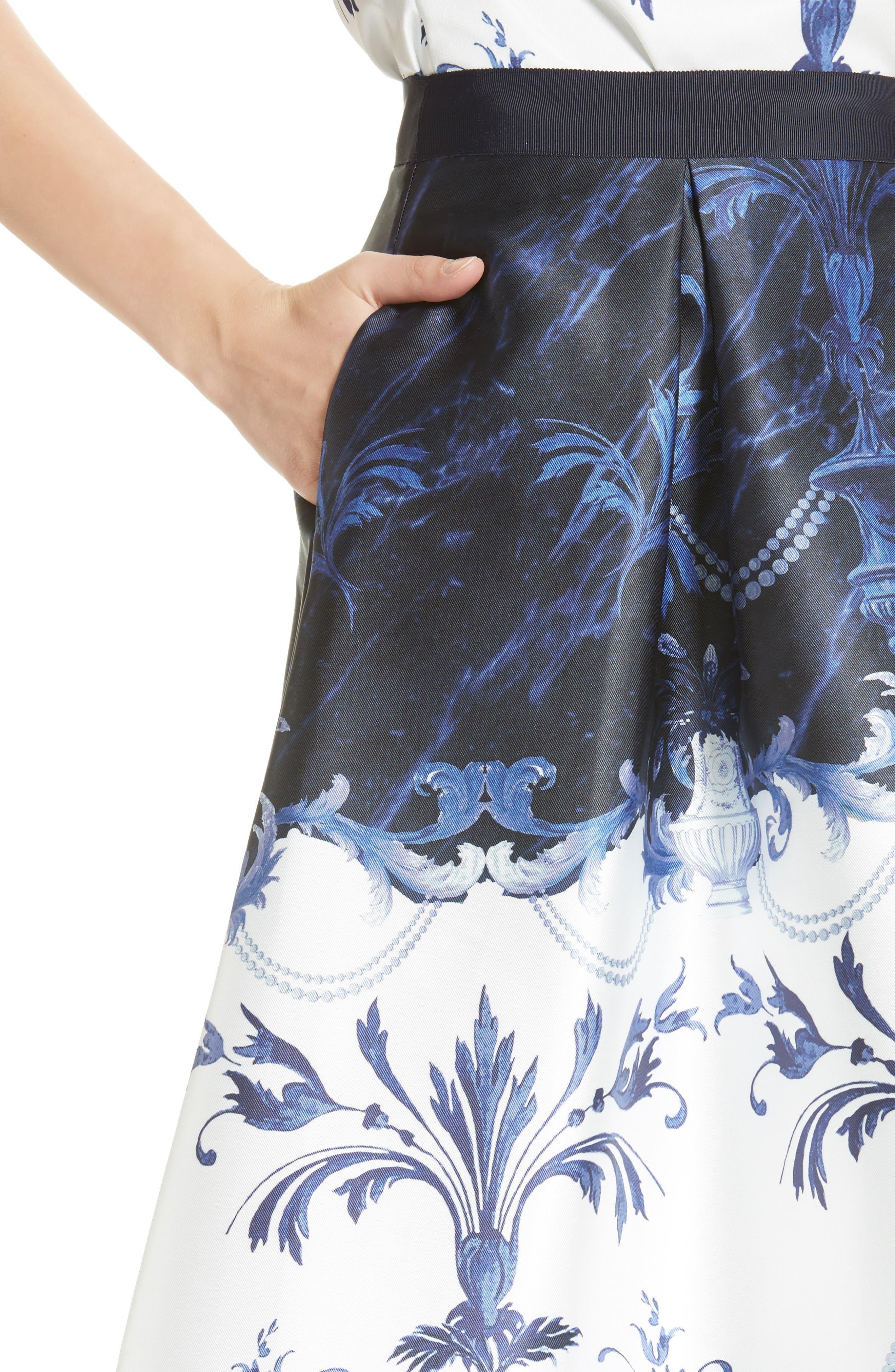 Alternate Image 5  - Ted Baker London Hunah Full Skirt