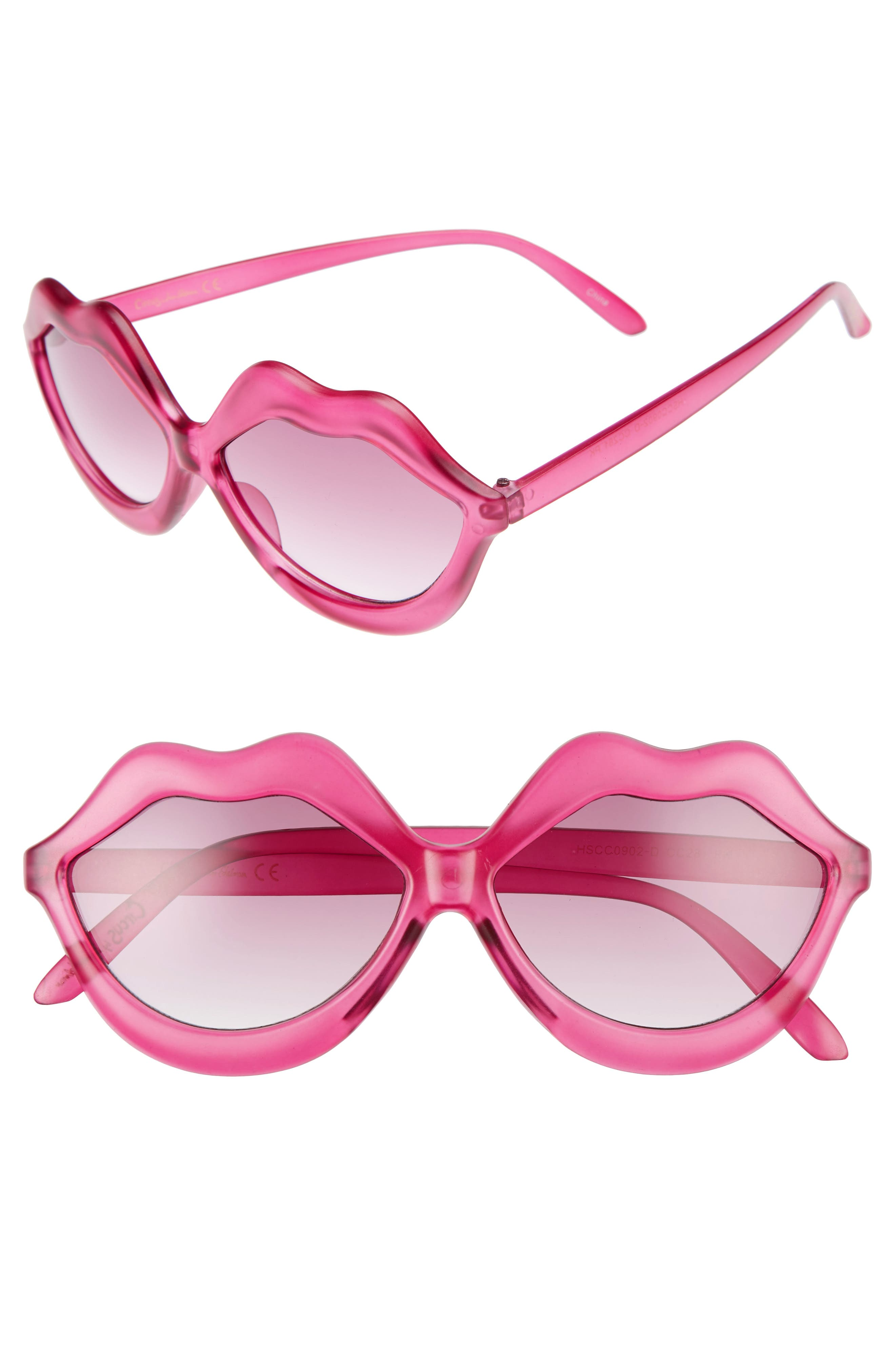 Alternate Image 1 Selected - Circus by Sam Edelman 58mm Lips Sunglasses