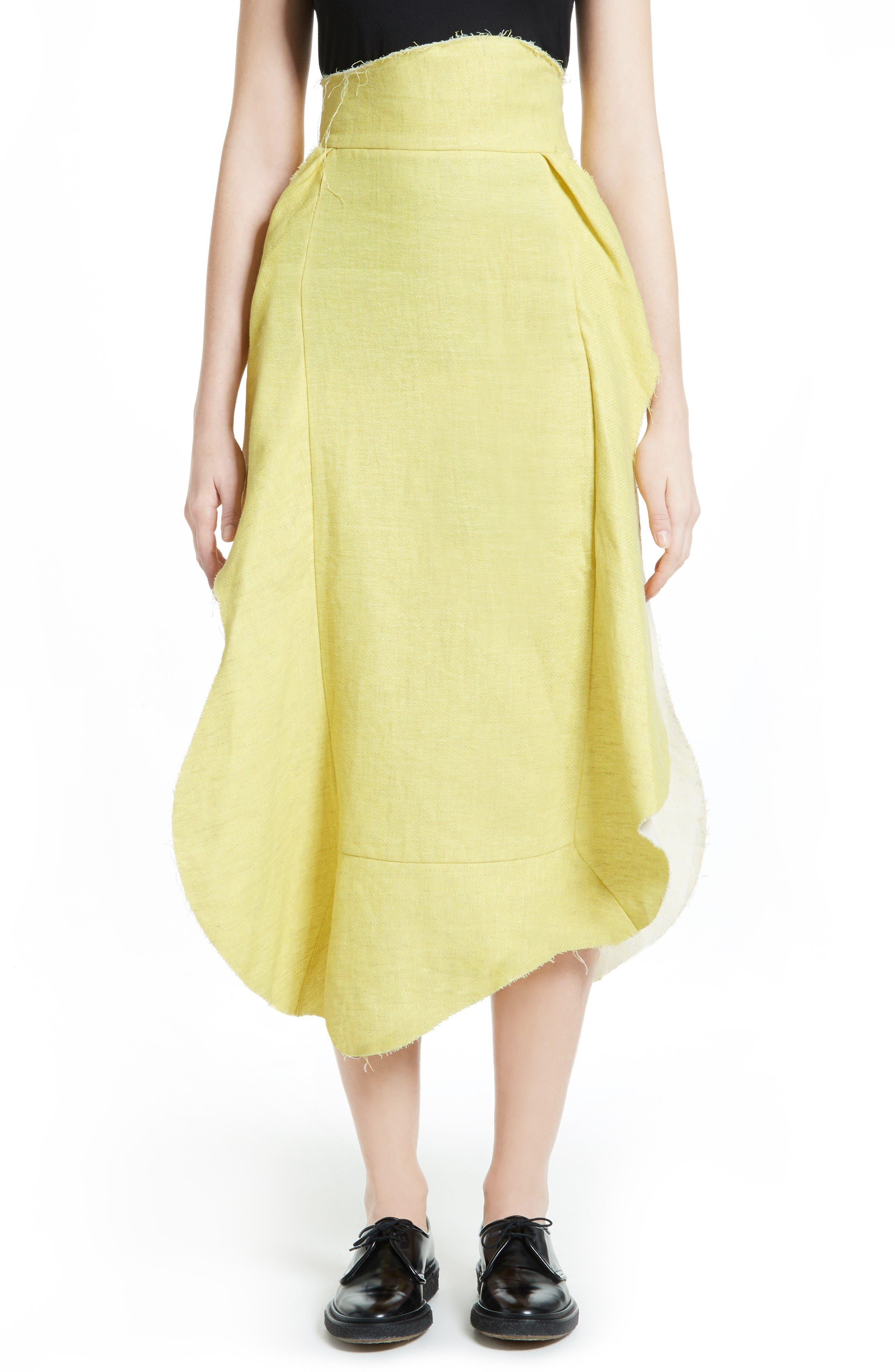 A.W.A.K.E. Apron Skirt