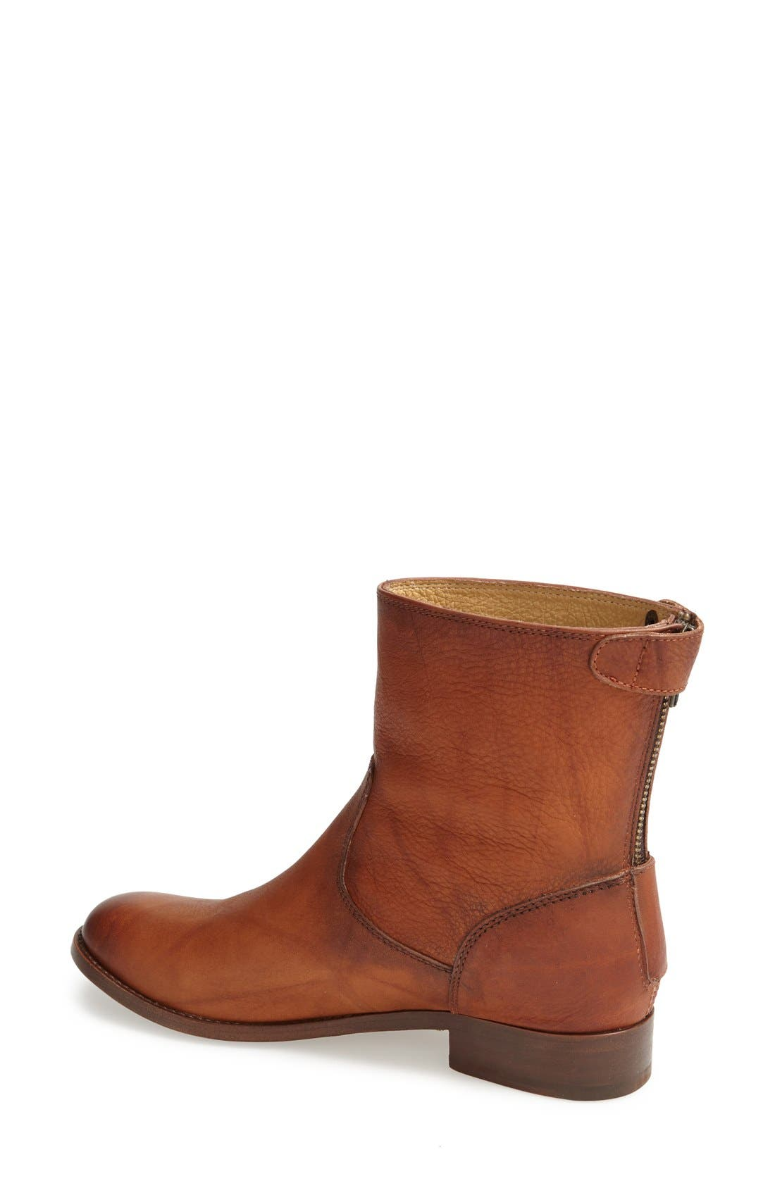 Alternate Image 2  - Frye 'Melissa Button' Zip Short Boot (Women)