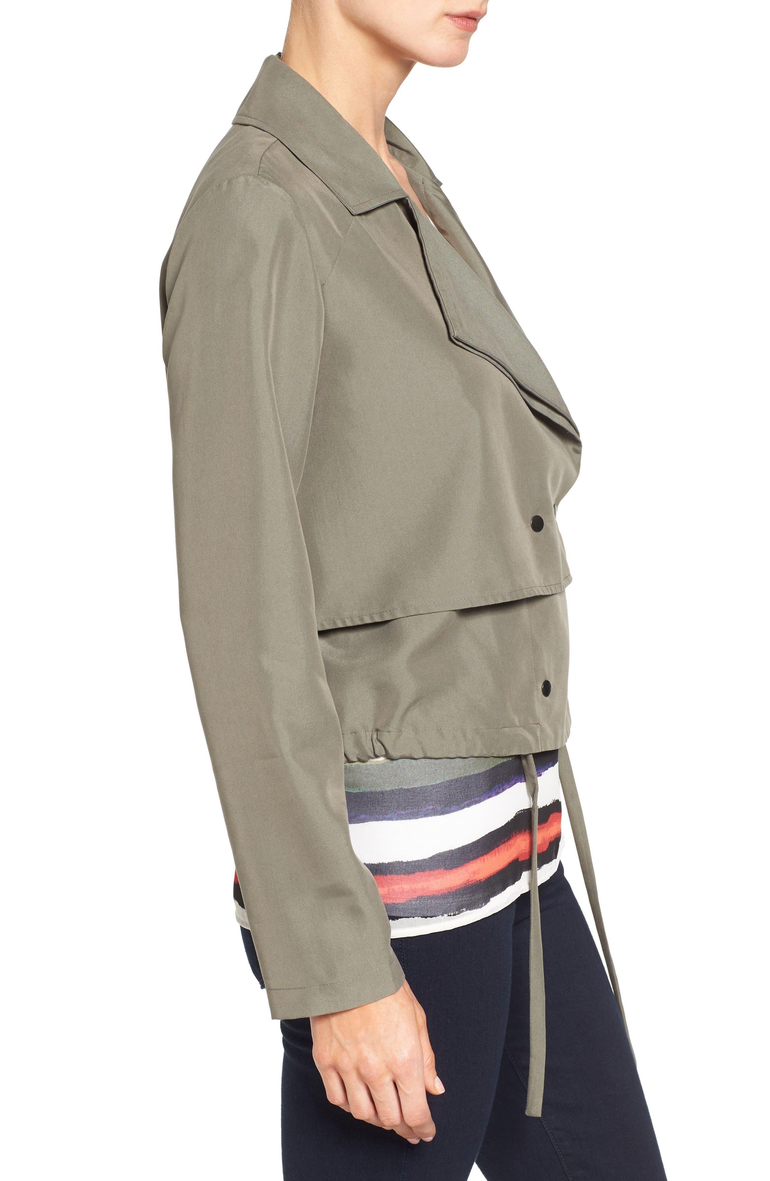 Alternate Image 3  - Halogen® Soft Utility Jacket (Regular & Petite)
