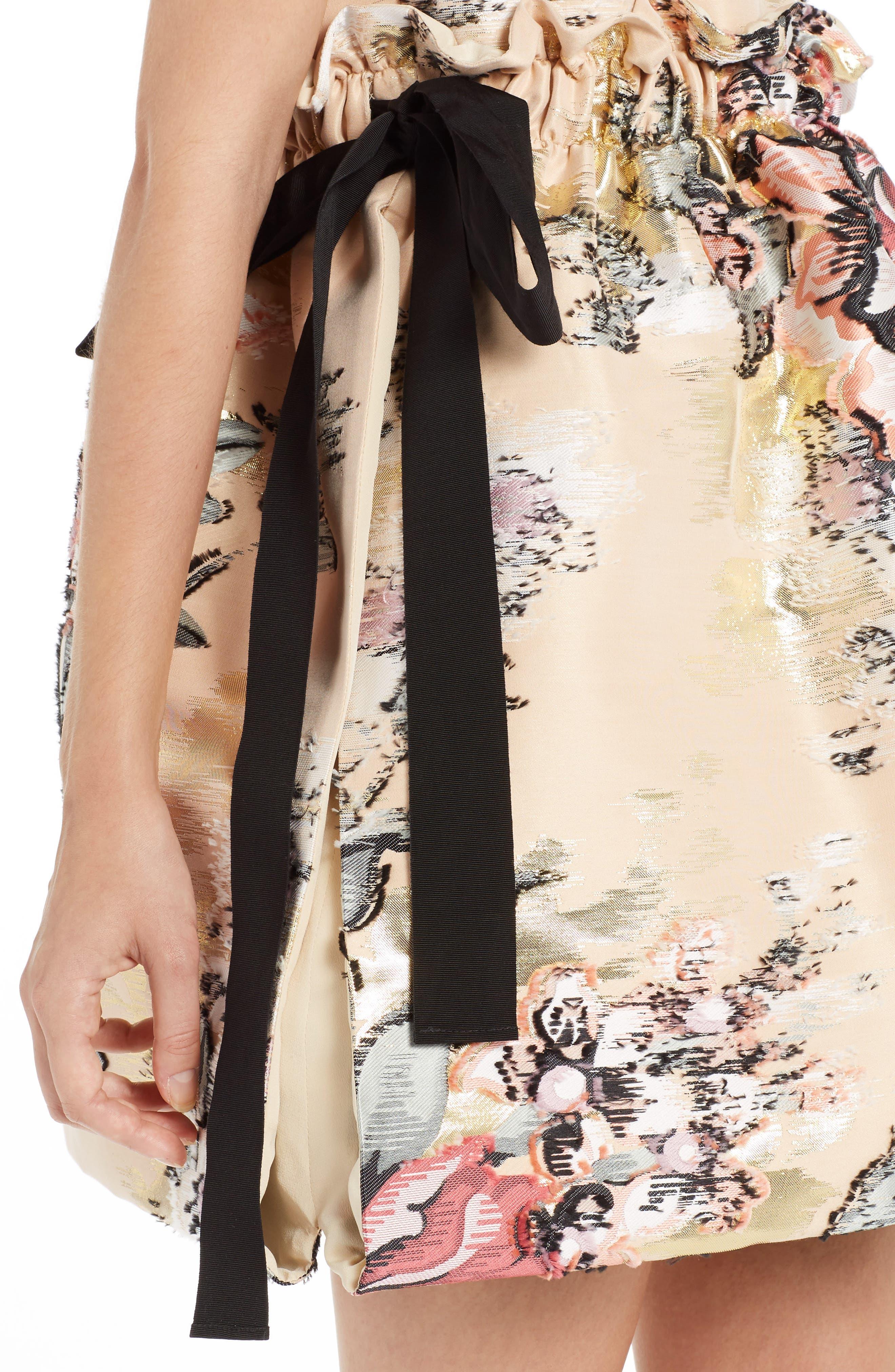 Alternate Image 6  - Fendi Fil Coupé Floral Brocade Dress