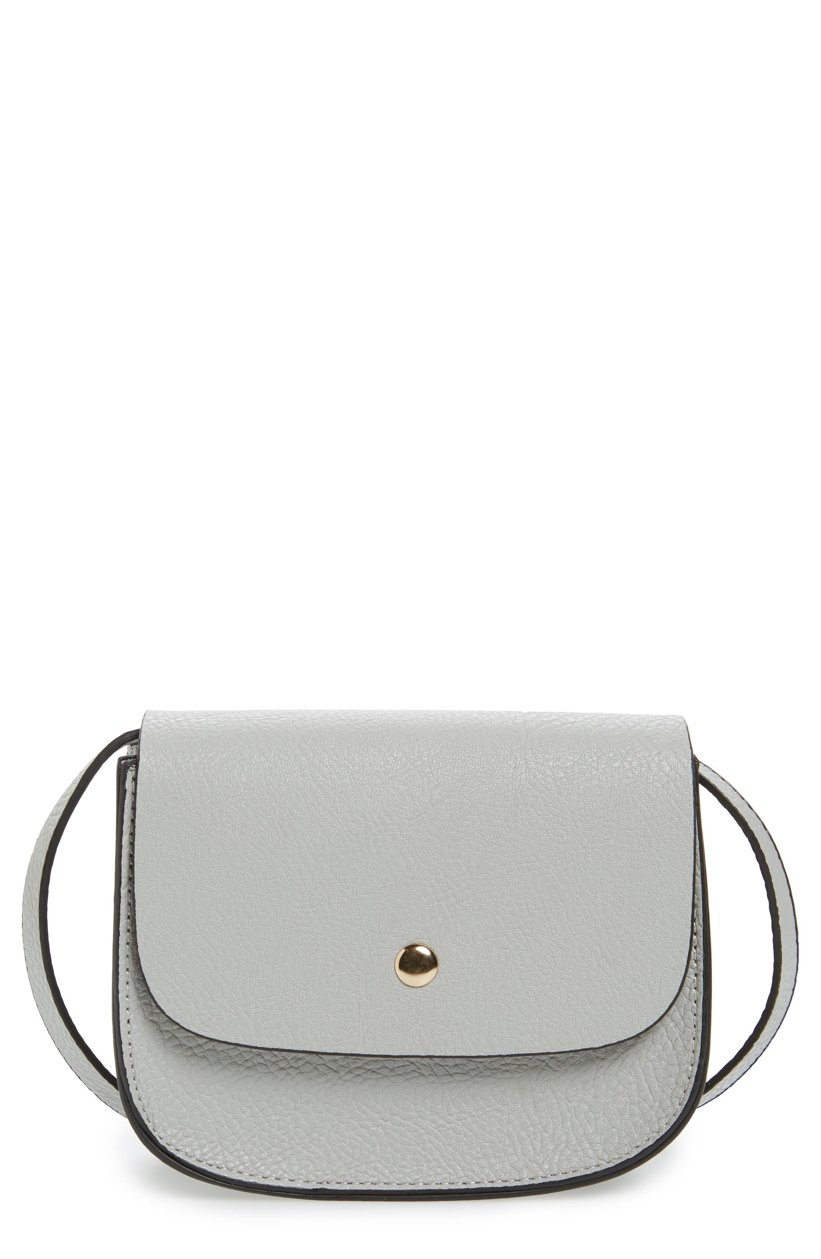 Main Image - Amici Accessories Mini Crossbody Saddle Bag