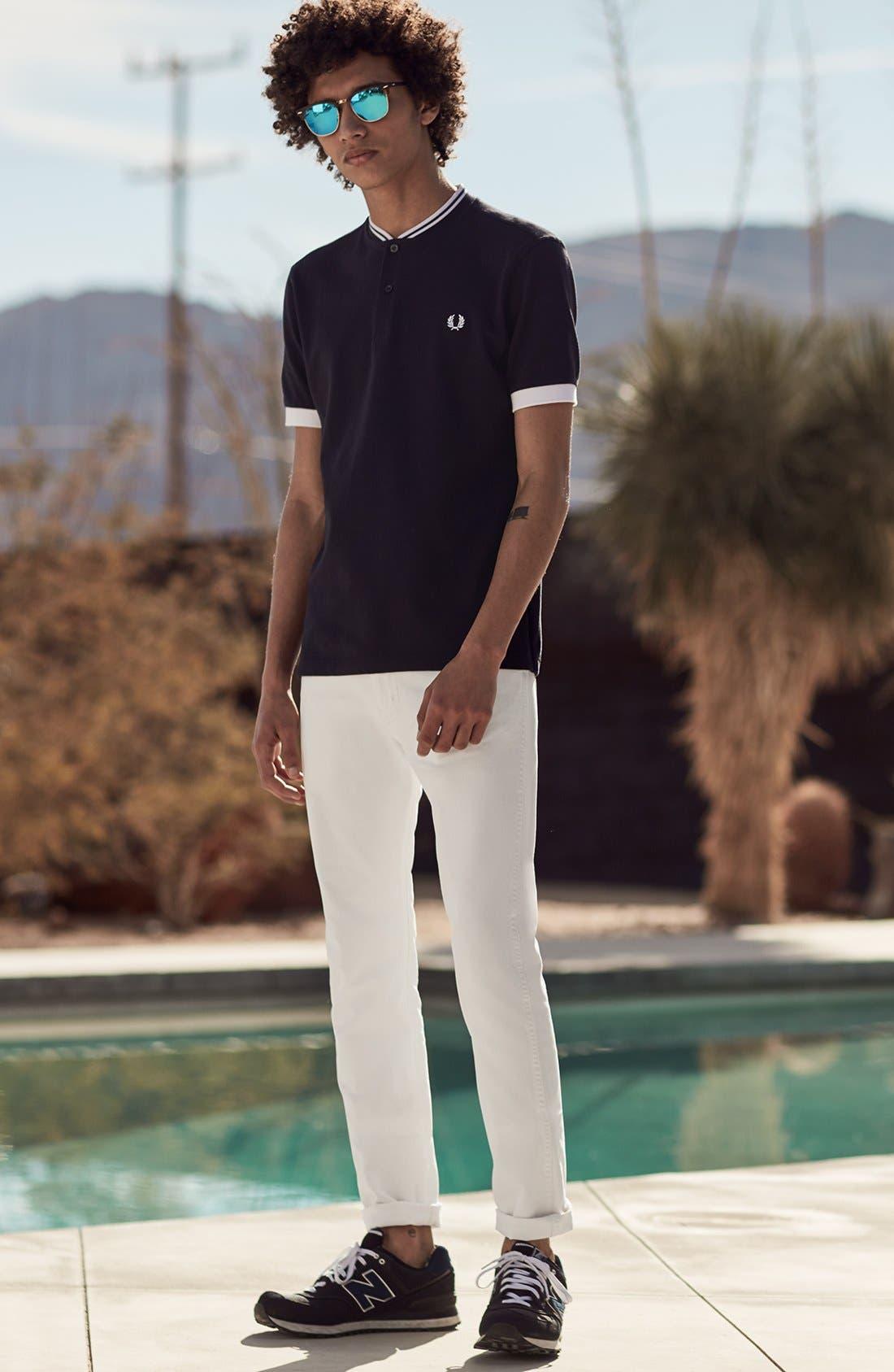 Alternate Image 11  - Levi's® 510® Skinny Fit Jeans (White Bull Denim)