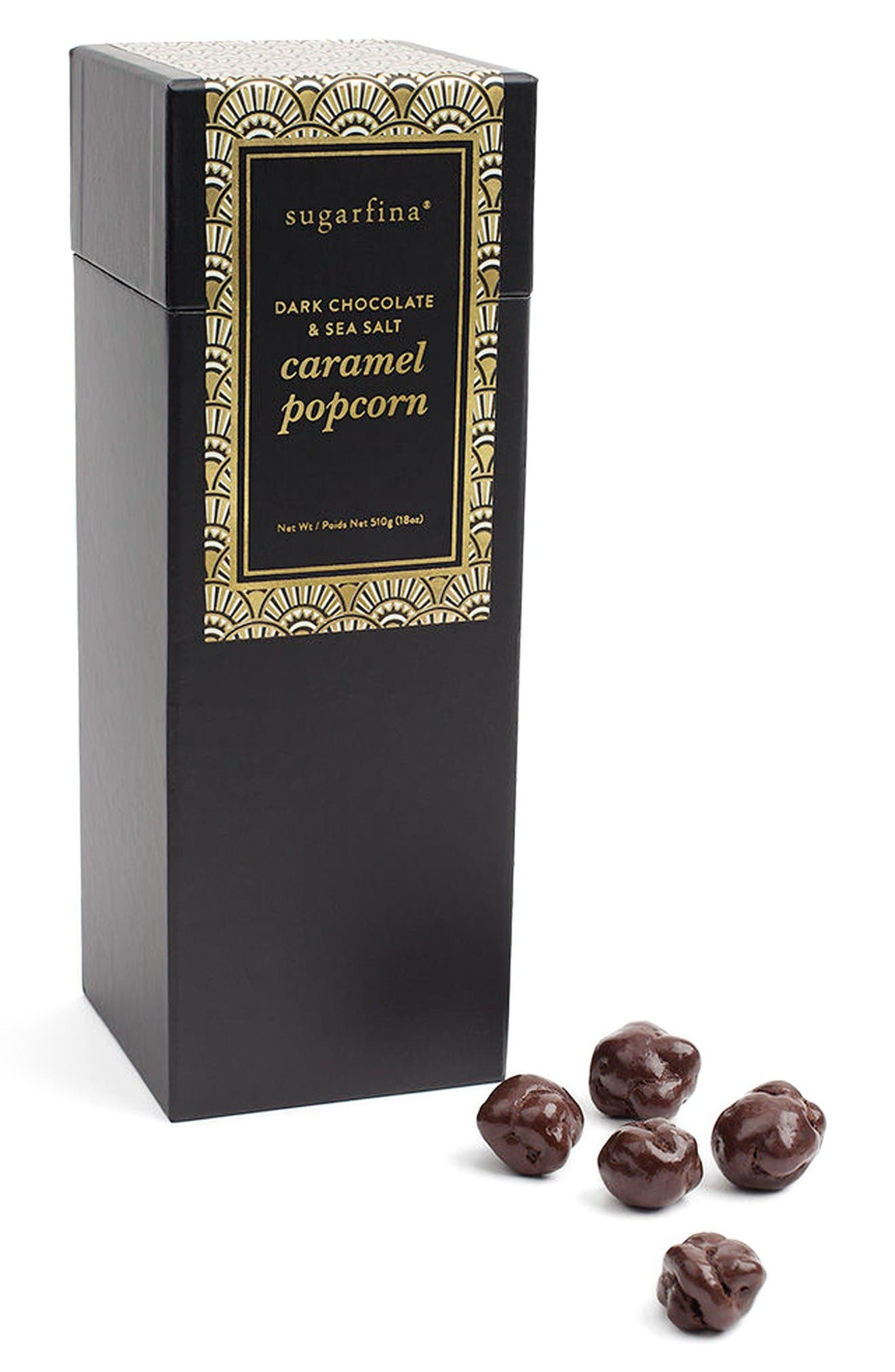 Main Image - sugarfina Dark Chocolate & Sea Salt Caramel Popcorn