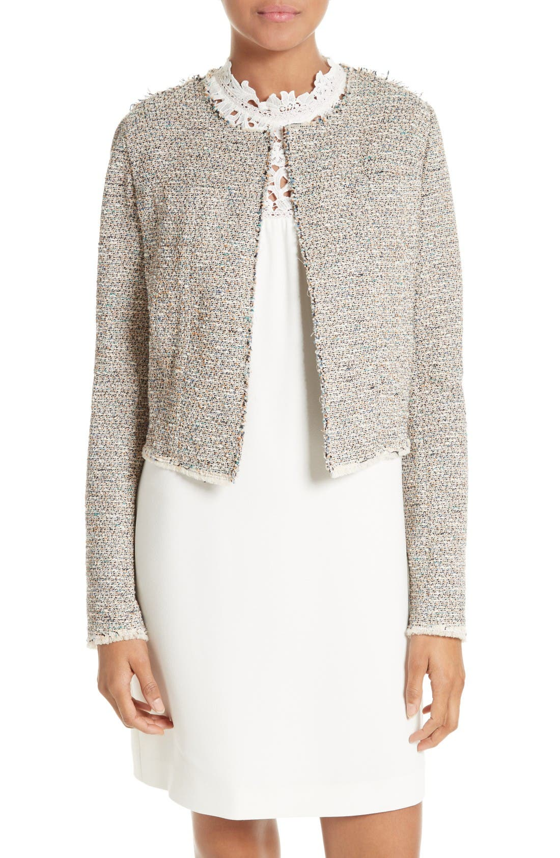 Main Image - Theory Ualana Tweed Jacket