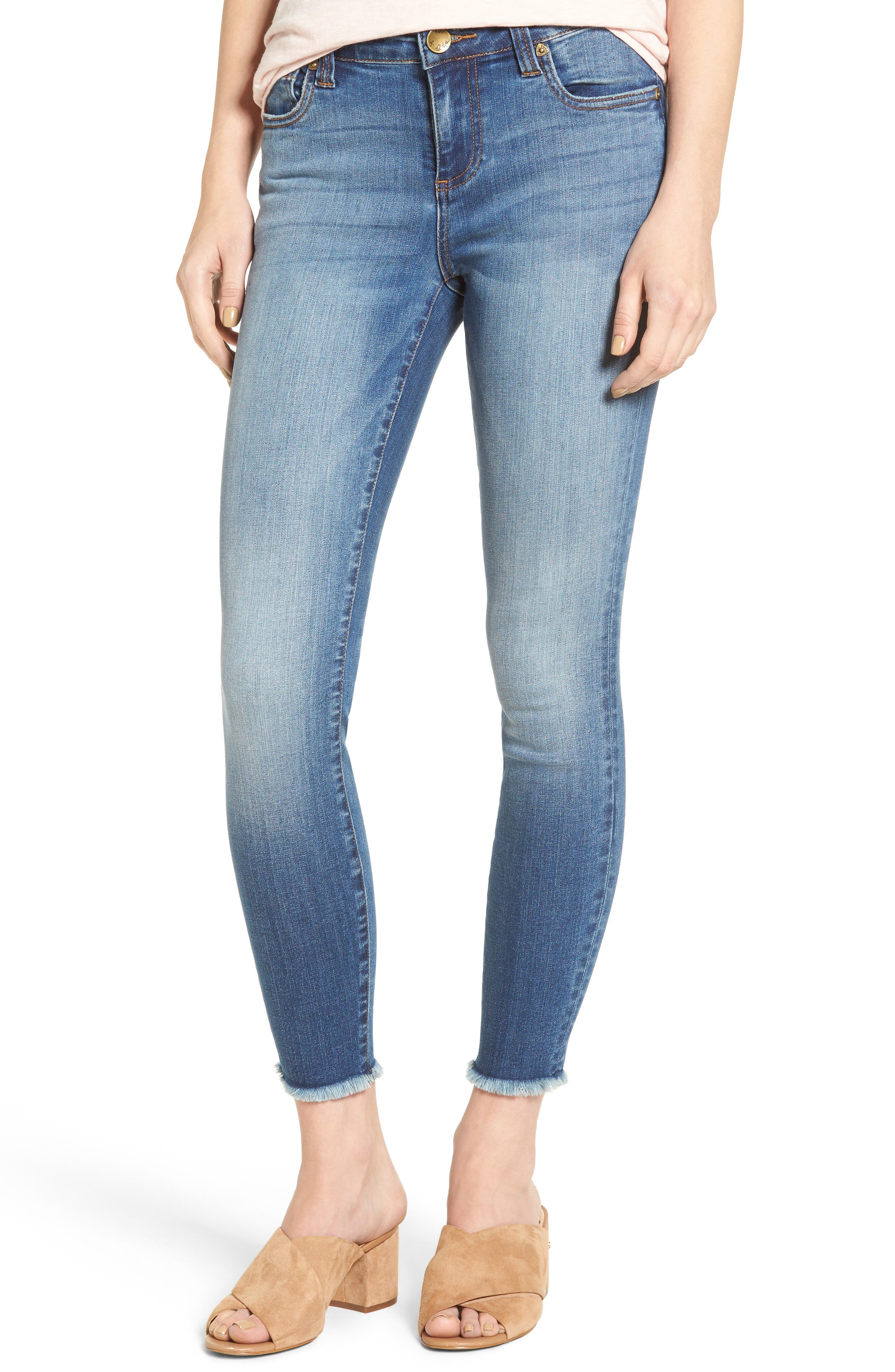 Alternate Image 1 Selected - KUT from the Kloth Connie Skinny Jeans (International)
