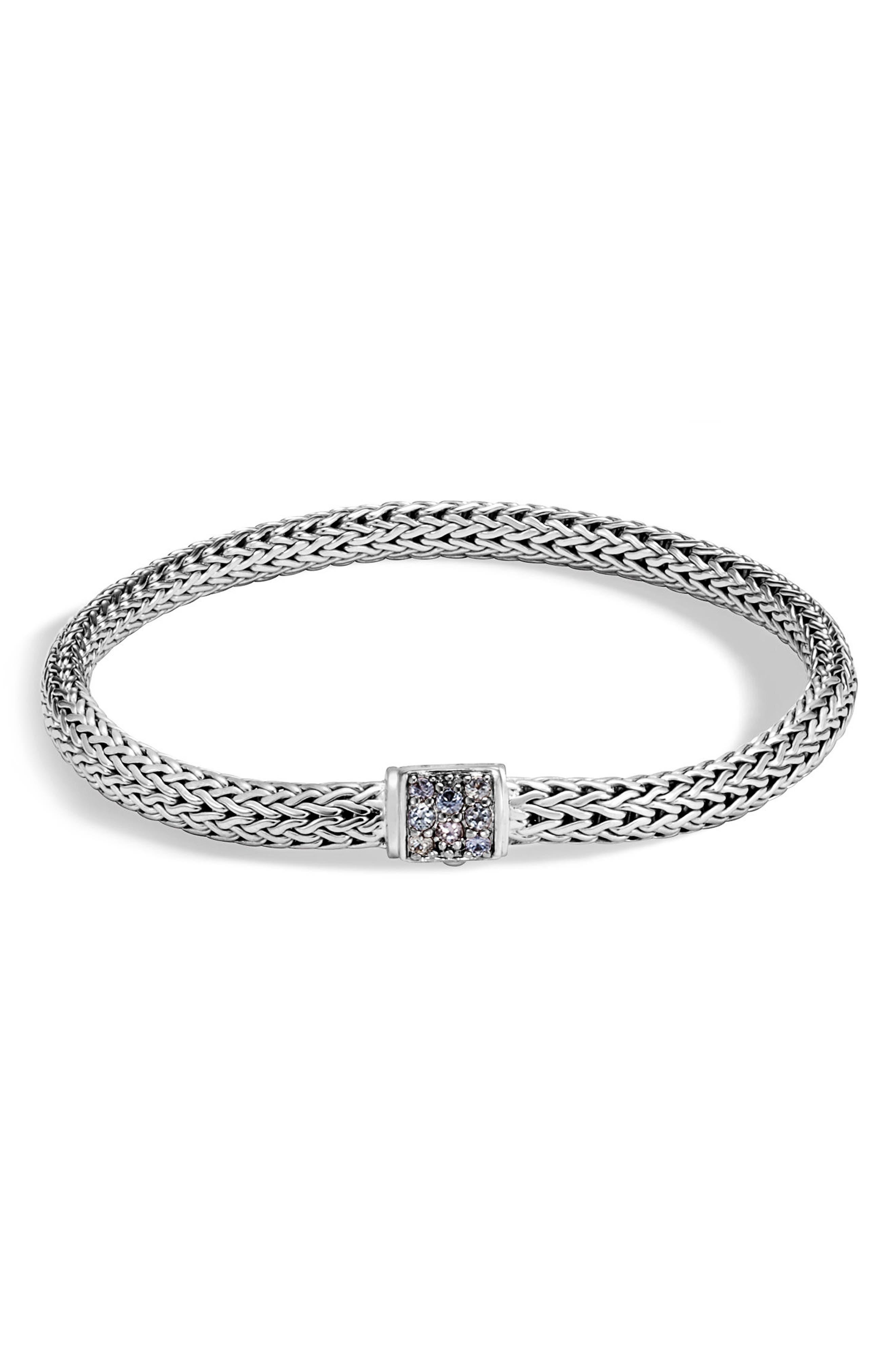Main Image - John Hardy Classic Chain Extra Small Pavé Bracelet