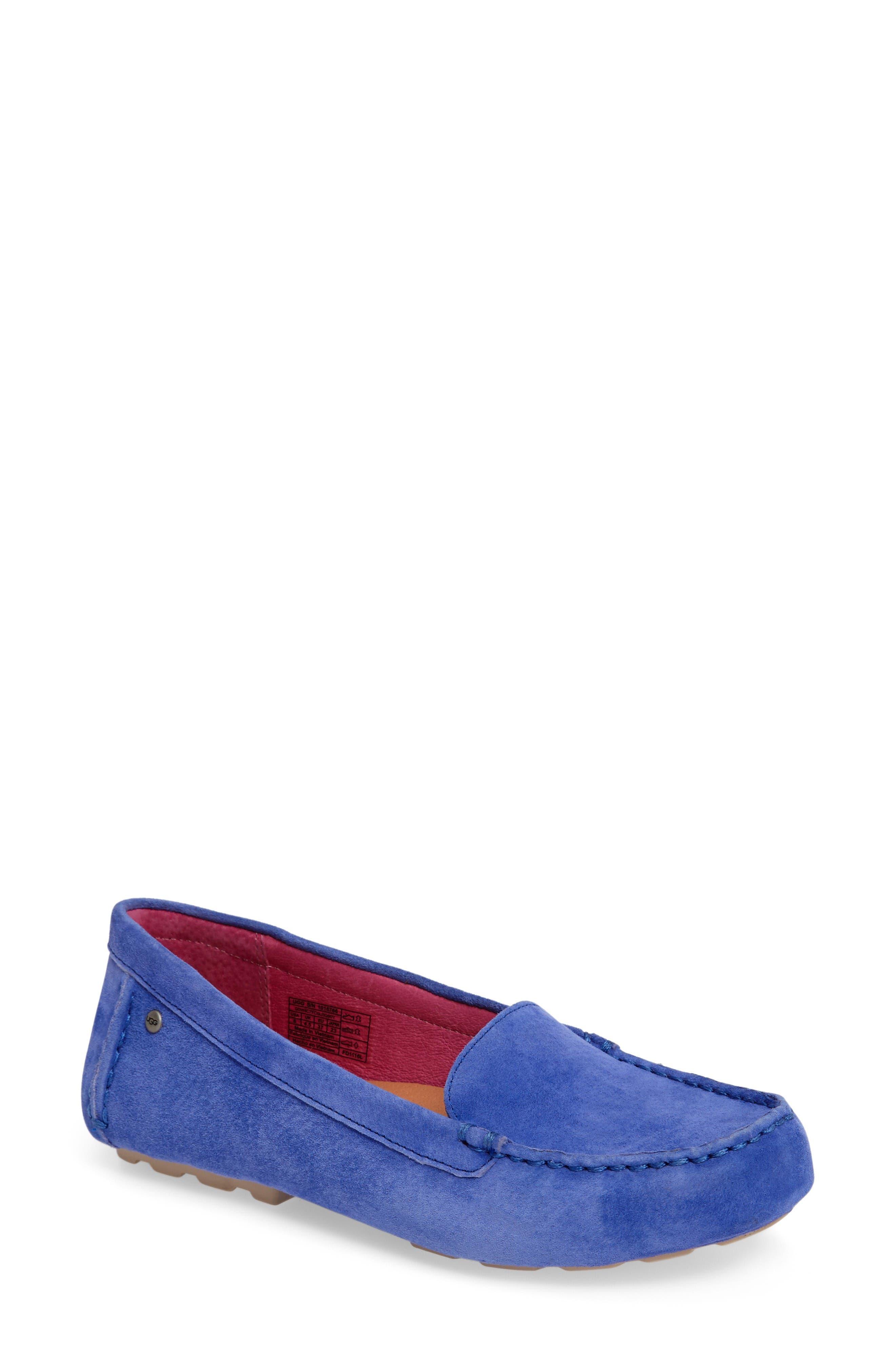 UGG® Milana Moc Toe Flat (Women)