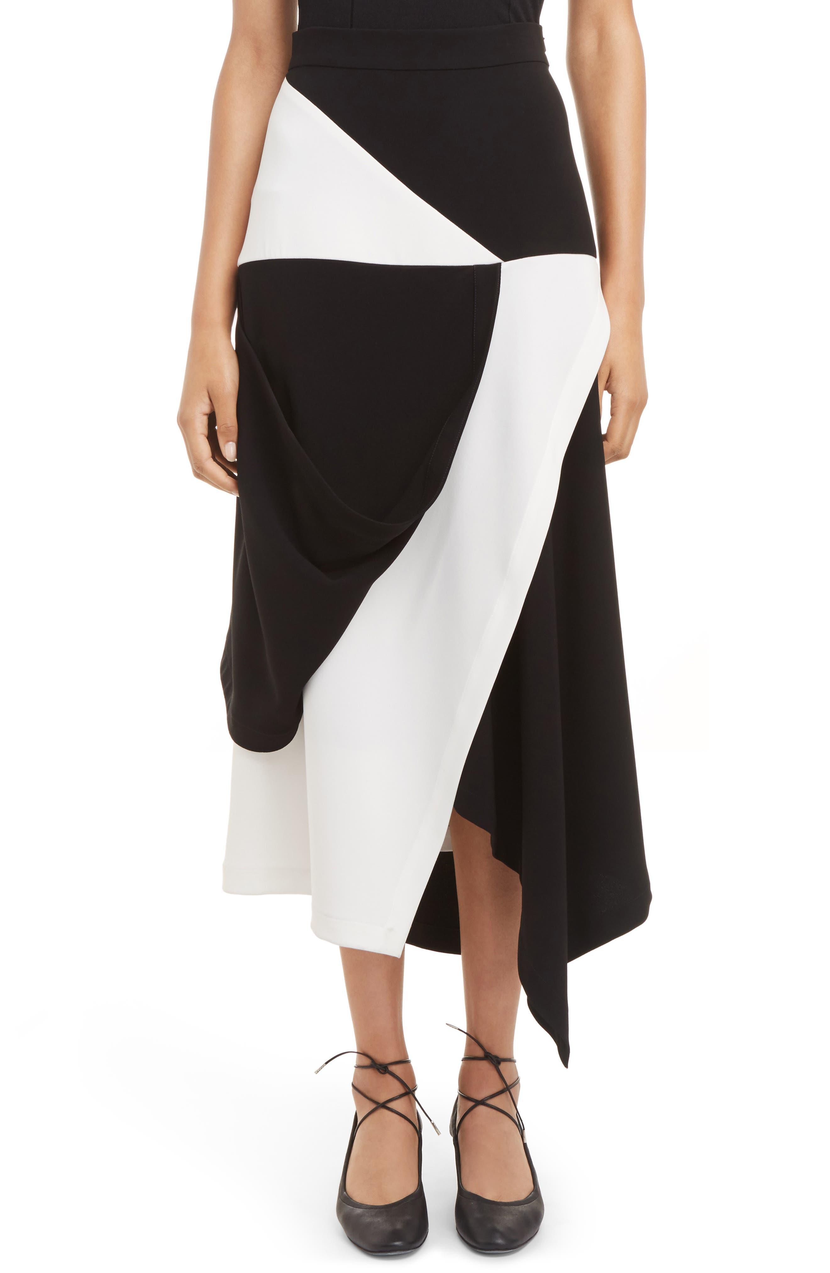 J.W.ANDERSON Asymmetrical Hem Maxi Skirt