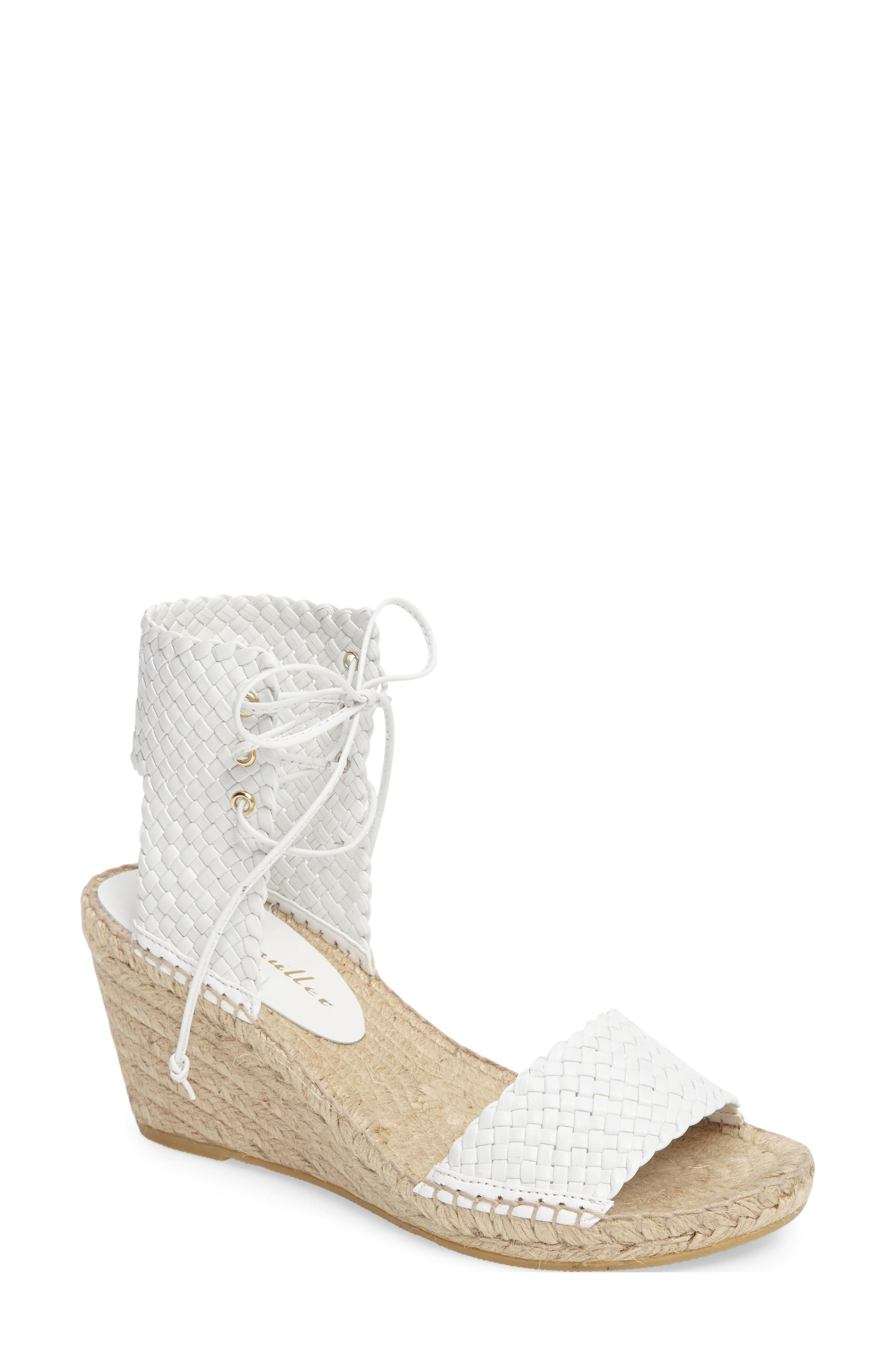 Bettye Muller Demee Woven Wedge Sandal (Women)