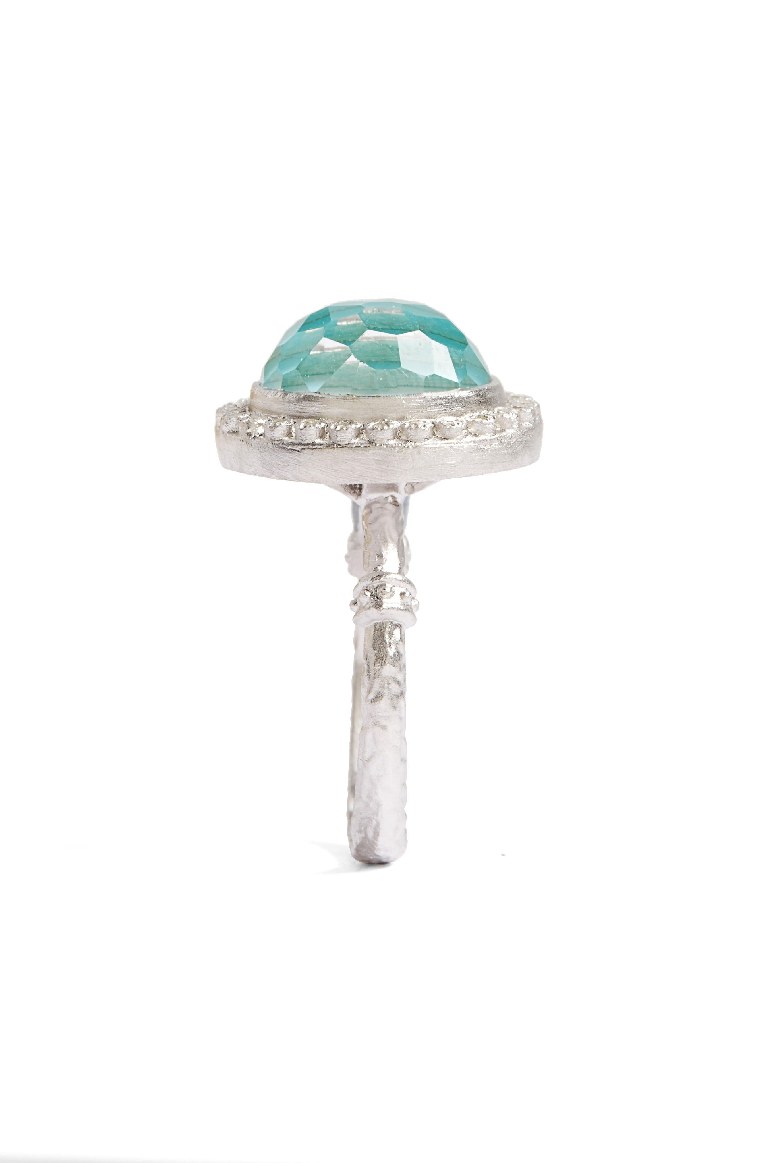 Alternate Image 2  - Armenta New World Diamond & Turquoise Ring