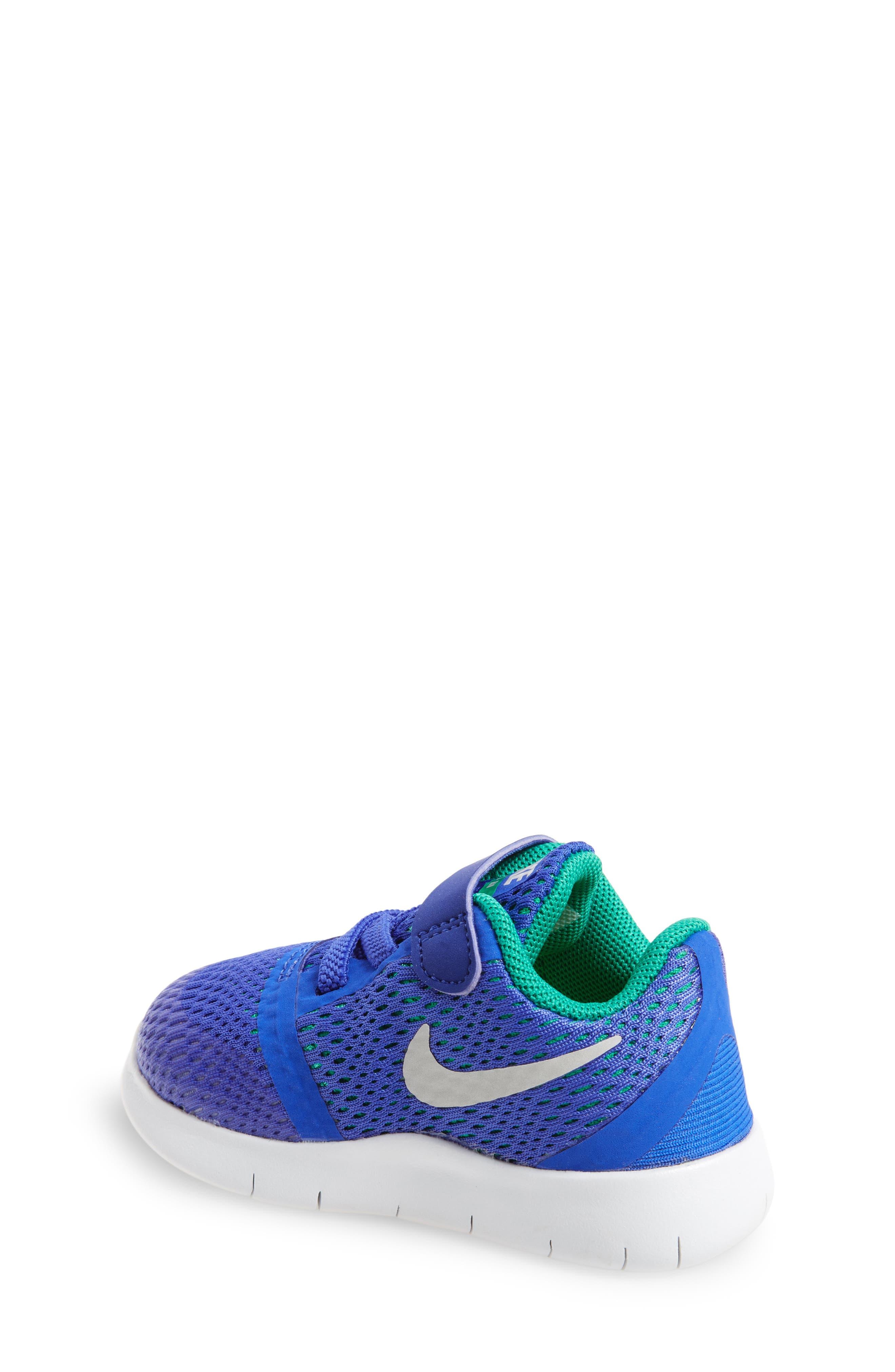 Alternate Image 2  - Nike Free RN Sneaker (Baby, Walker & Toddler)