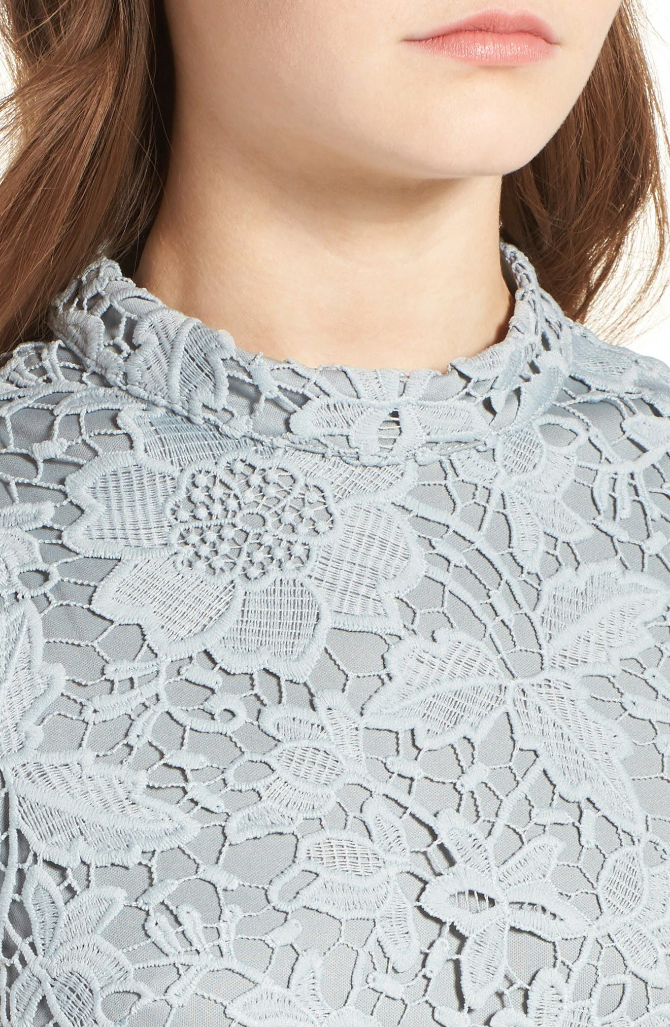 Alternate Image 4  - ASTR the Label 'Samantha' Lace Dress