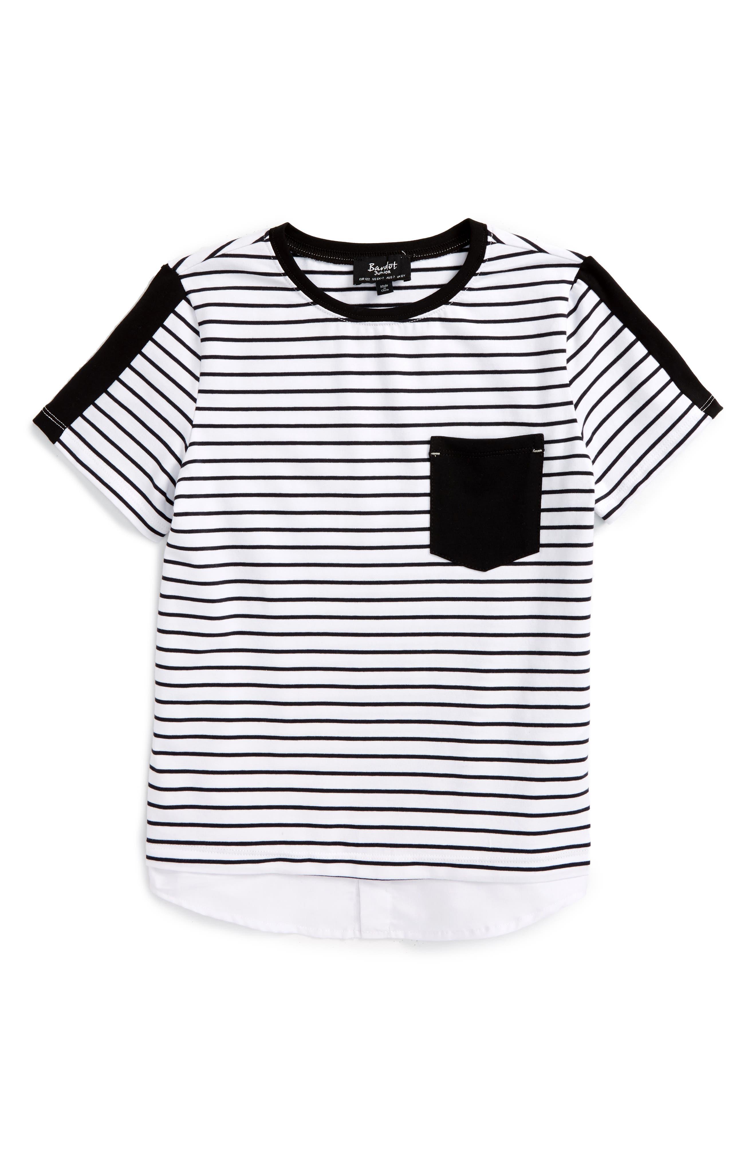 Bardot Junior Stripe T-Shirt (Big Boys)