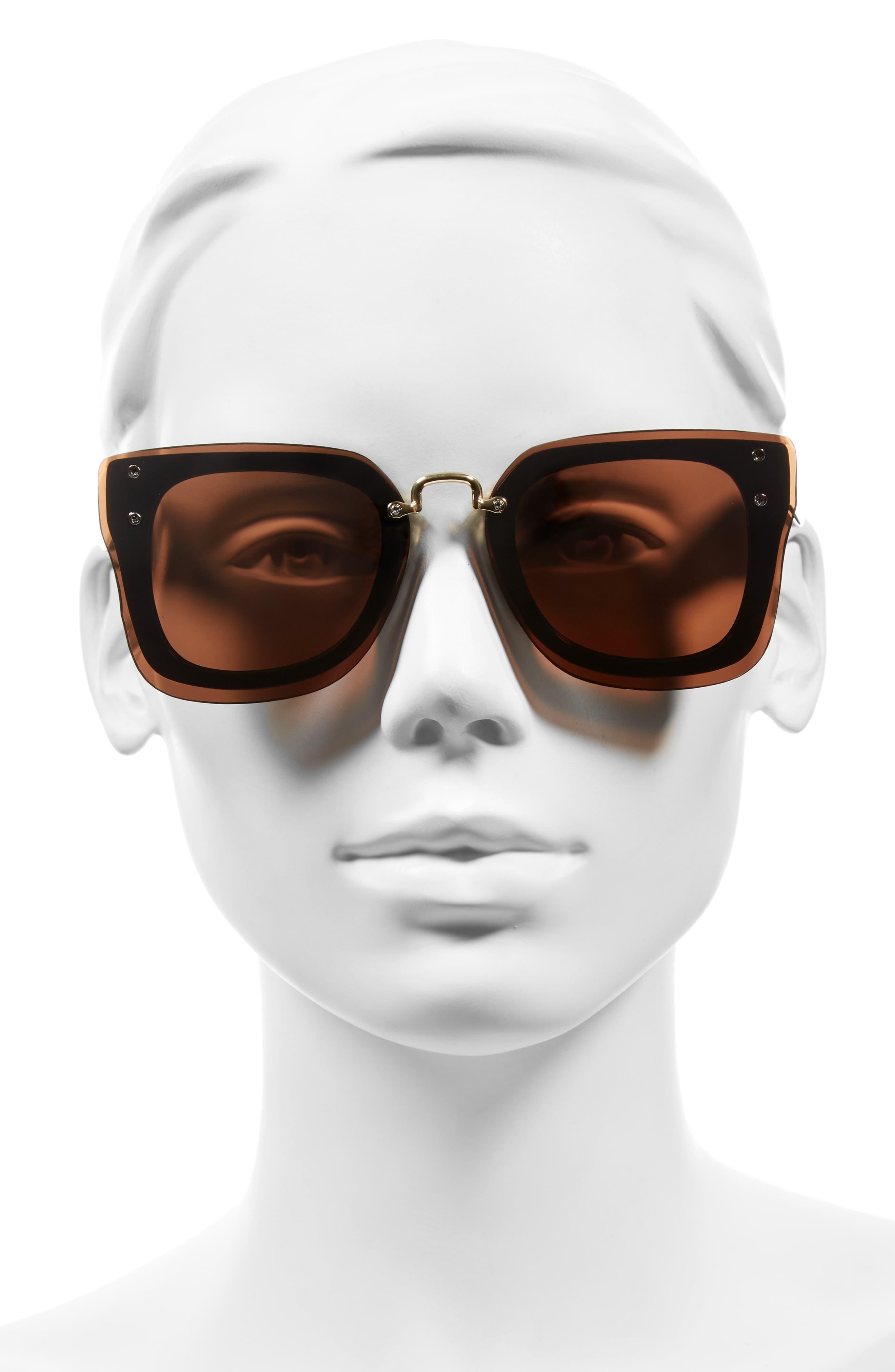 Alternate Image 2  - BP. 48mm Cat Eye Shield Sunglasses