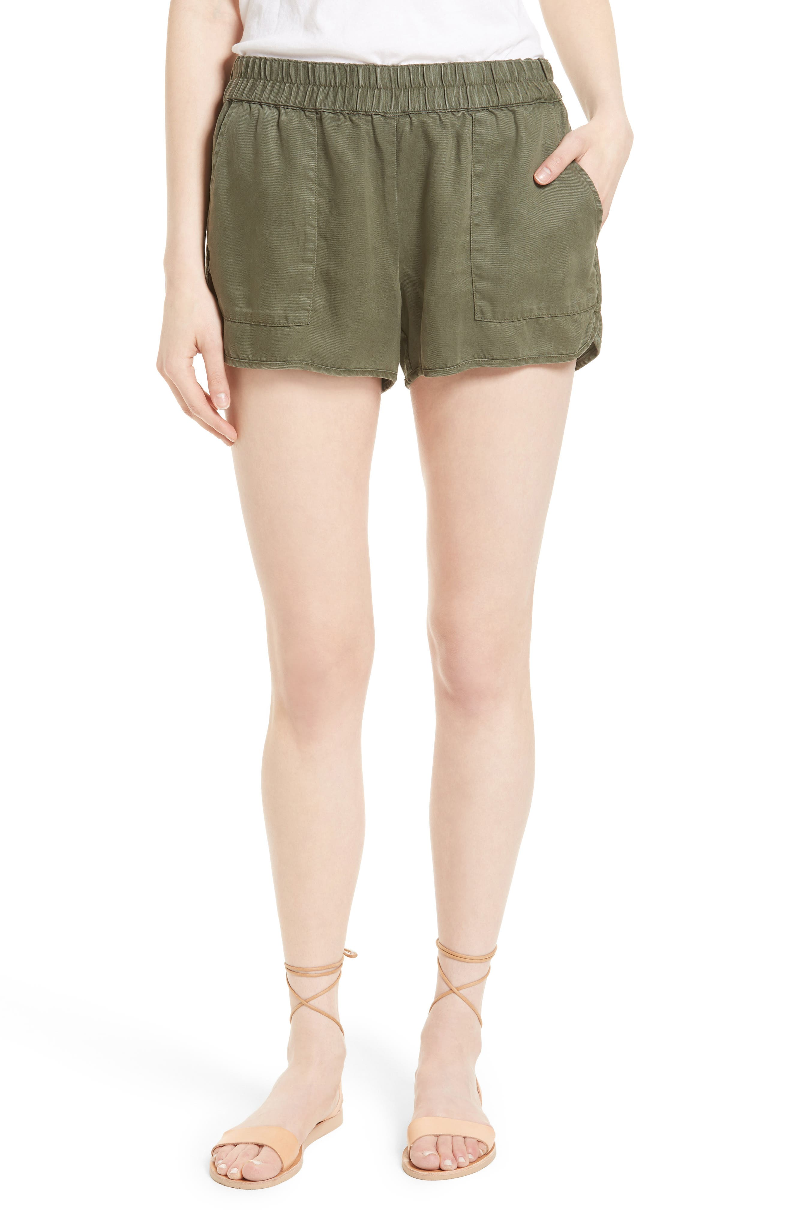 Alternate Image 1 Selected - Soft Joie Delavina Tencel® Twill Shorts