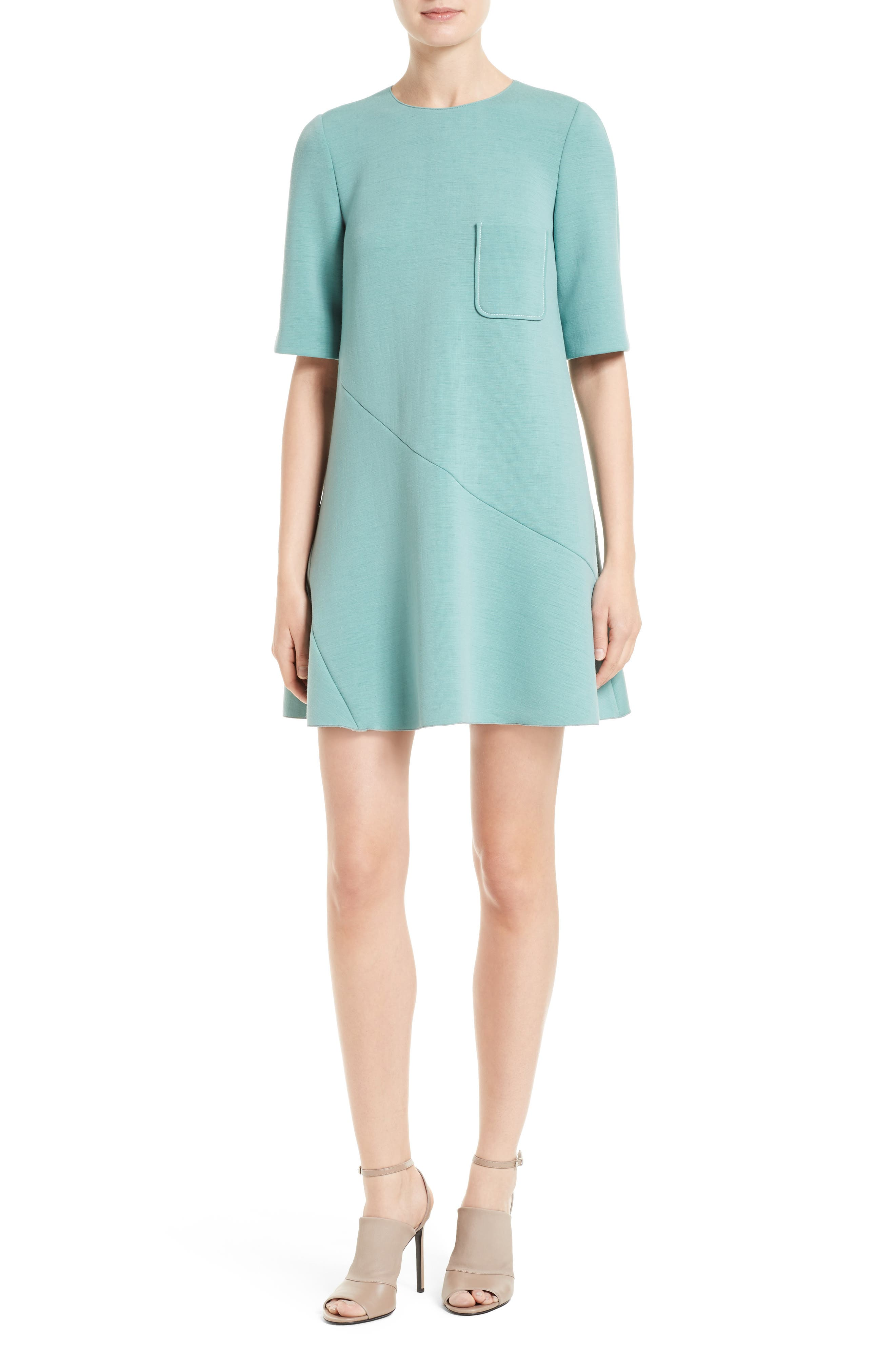 M Missoni Stretch Knit Trapeze Dress