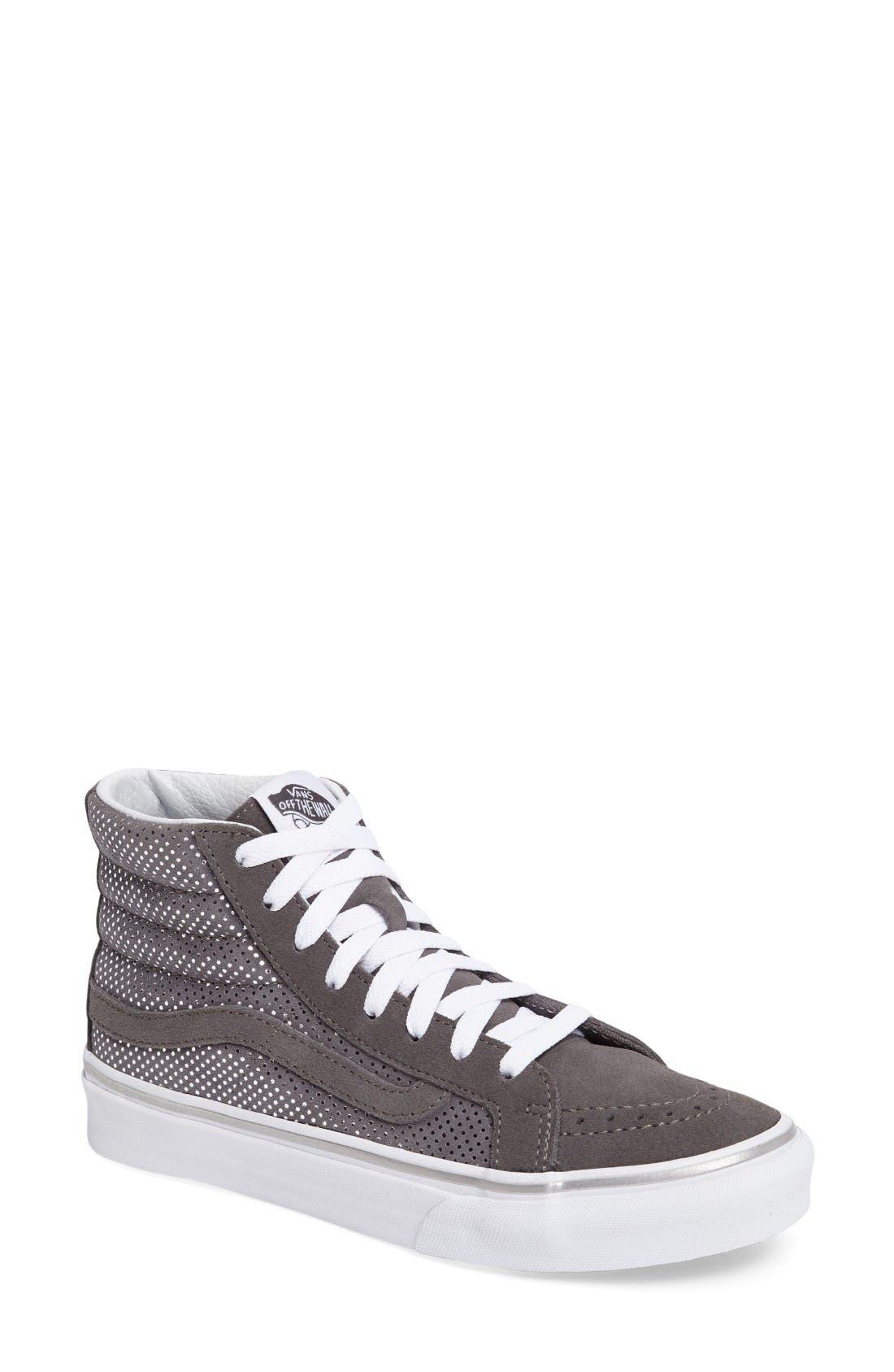 Alternate Image 1 Selected - Vans Sk8-Hi Slim High Top Sneaker (Women)